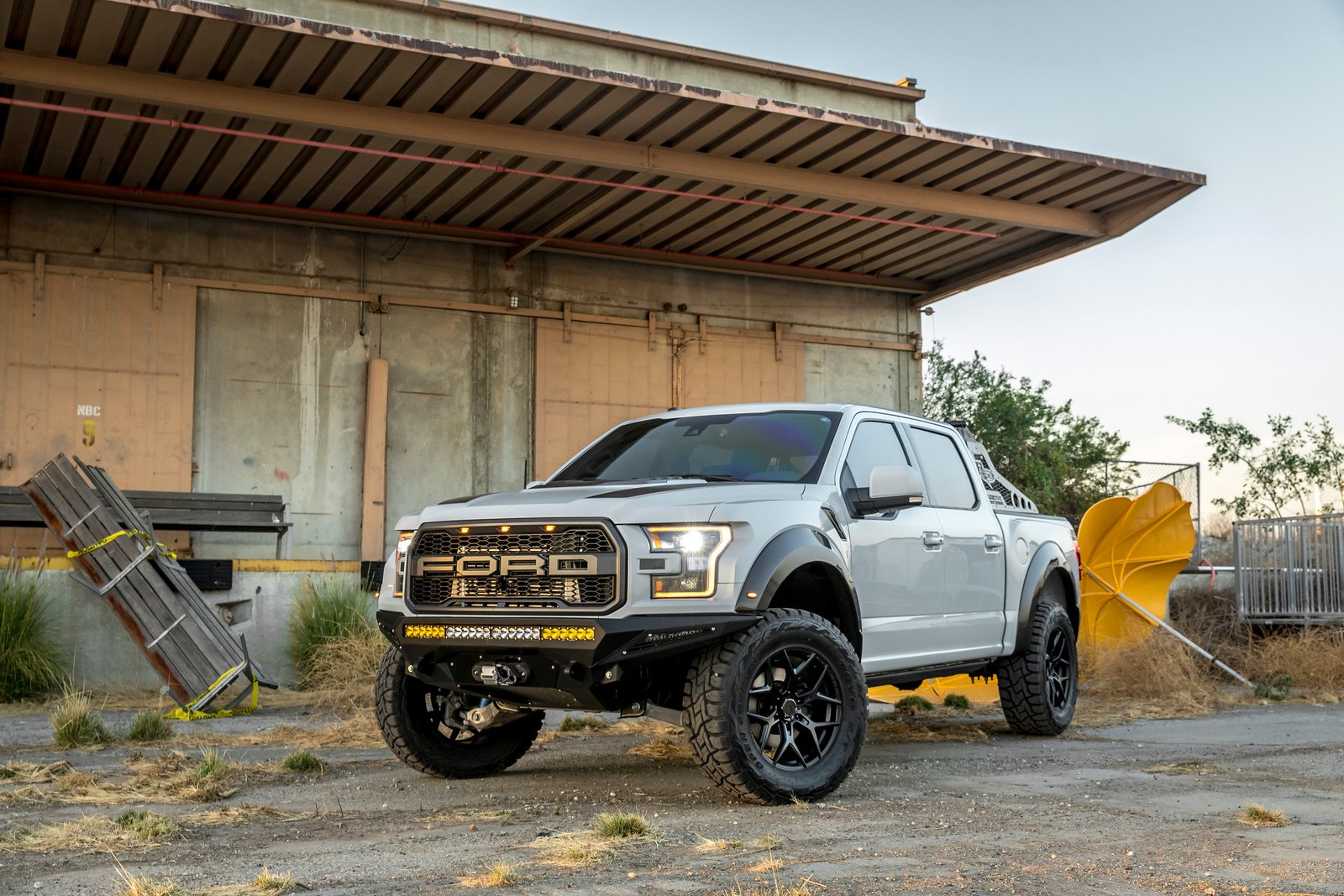 Well Defined Gray Lifted Ford F 150 Thanks To Custom Accessories
