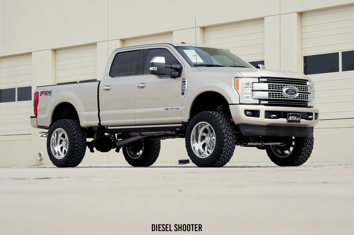 Lifted ford f 250 platinum photo by diesel shooter