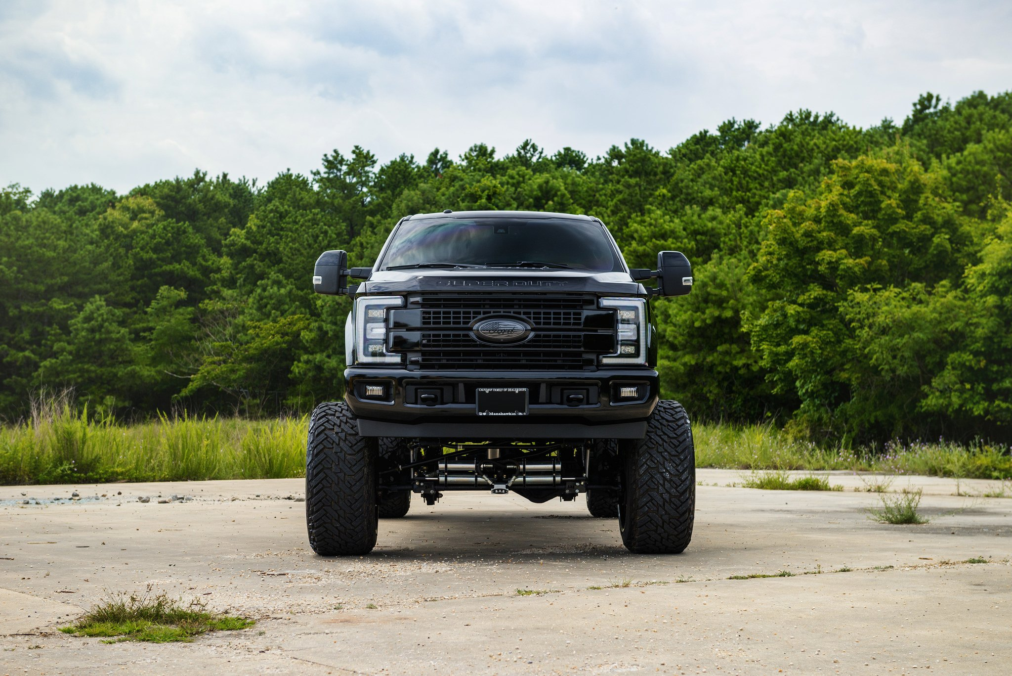 Lifted 2017 F350 >> Unmatched Style: Lifted Ford F350 Super Duty Put on Big Fuel Wheels — CARiD.com Gallery