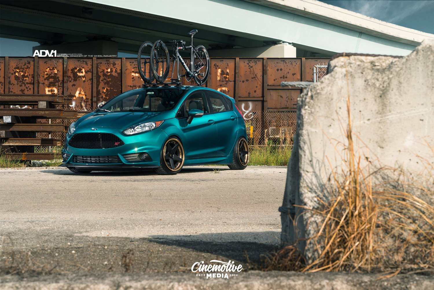 Satin Green Ford Fiesta St Hot Hatch With A Proper Stance Carid