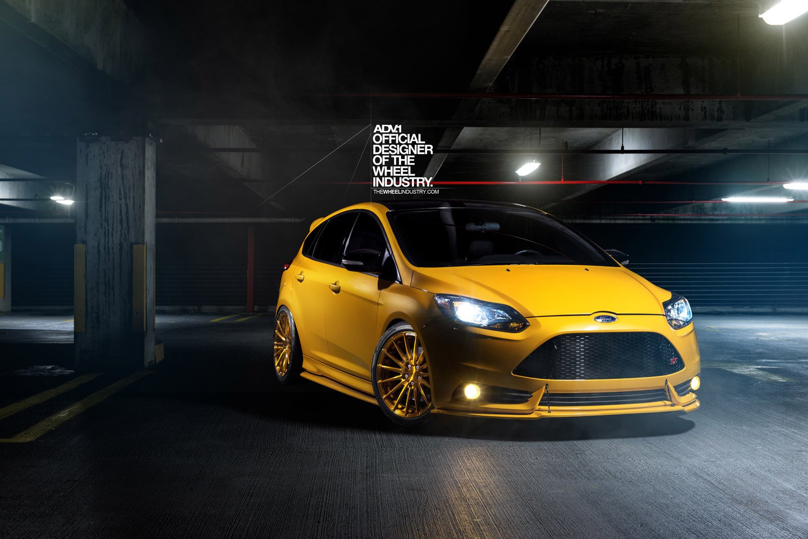 Custom Focus St >> Hot Hatch Fiver Ford Focus St With Custom Touches And Adv1 Rims