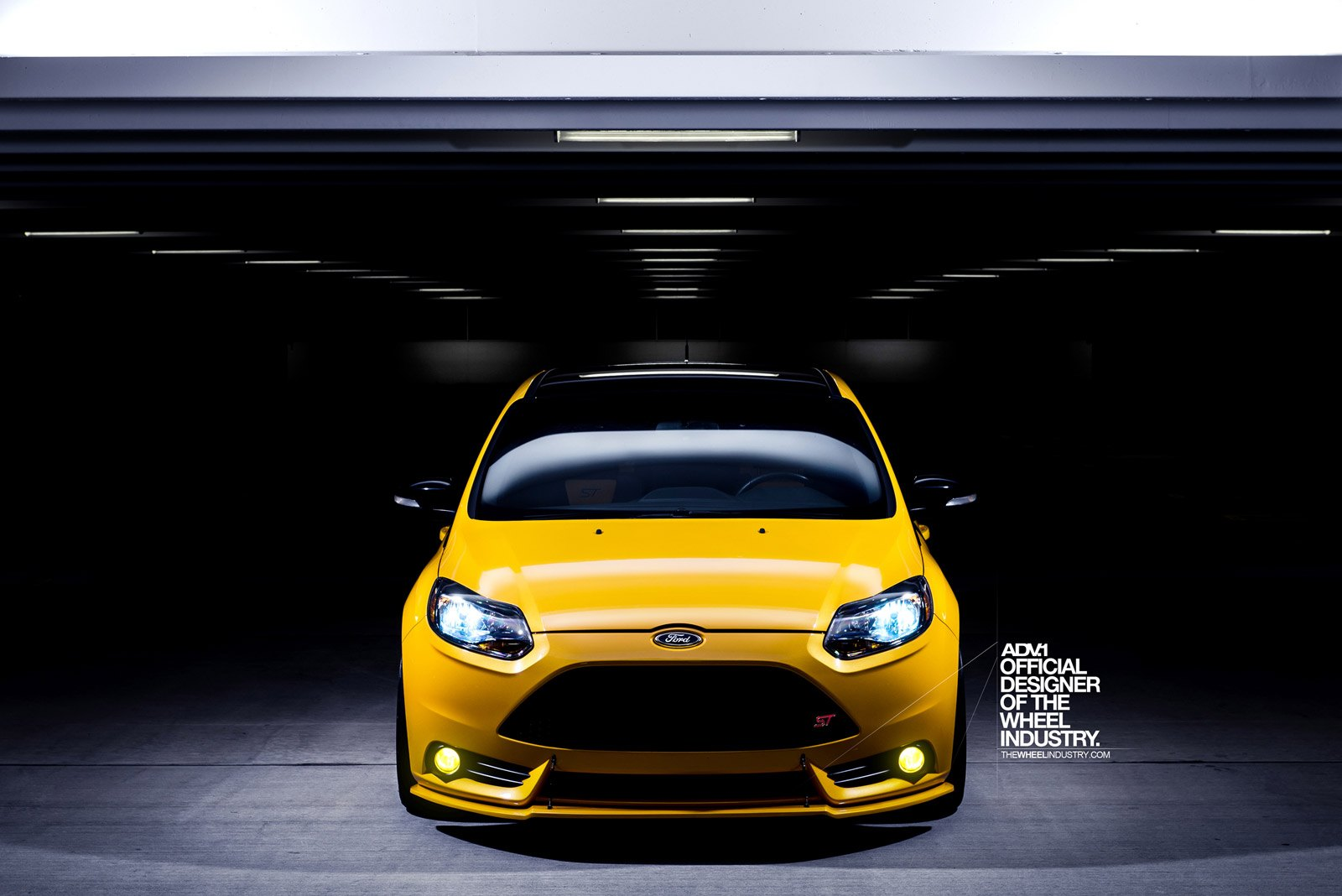 Hot Hatch Fiver Ford Focus St With Custom Touches And
