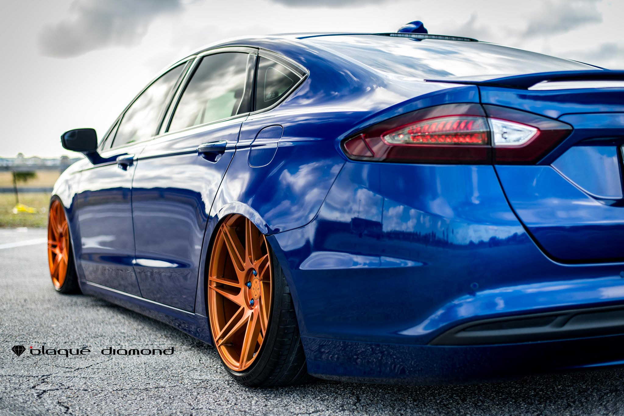 Ford Fusion Black Tinted Led Taillights Photo By Diamond