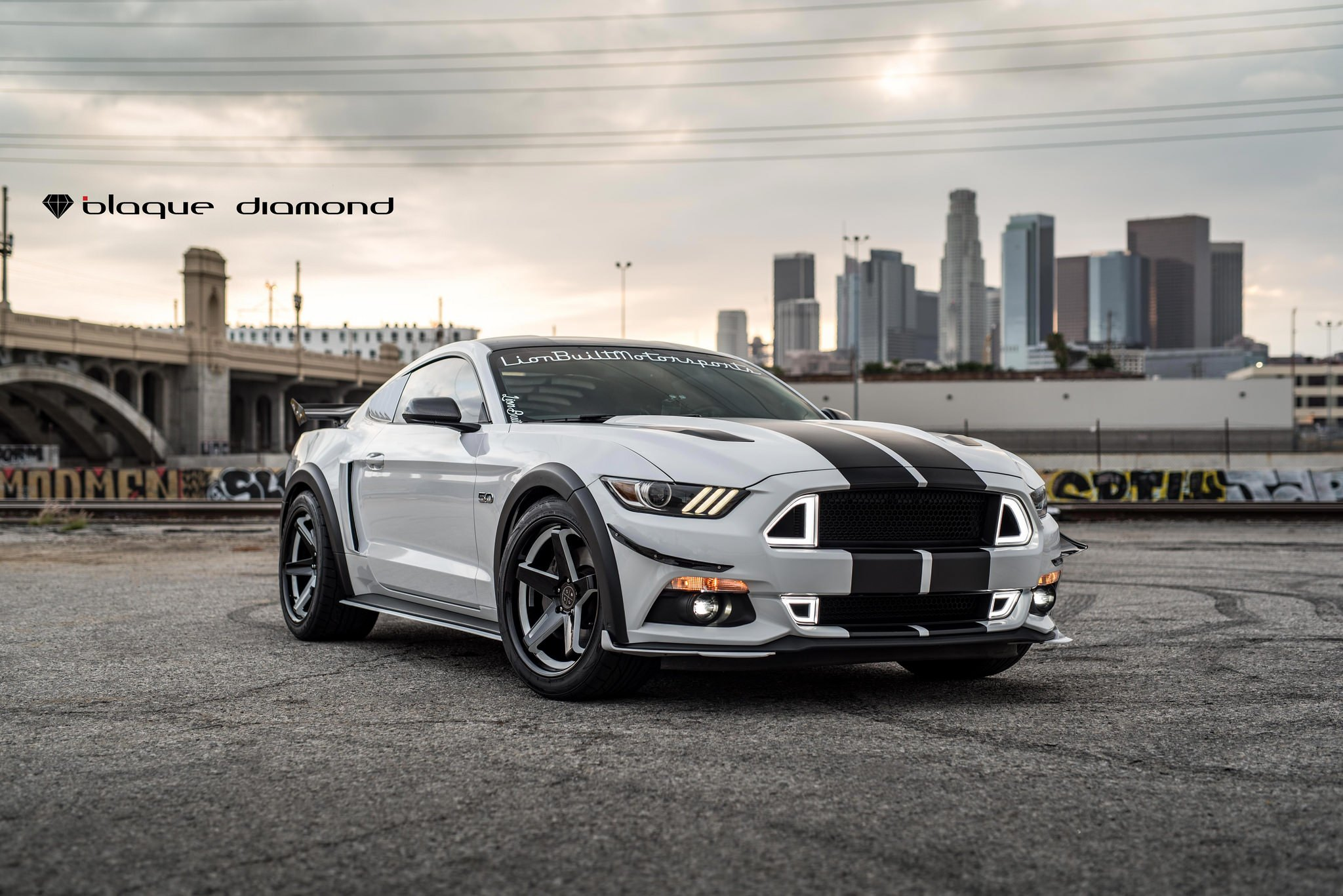 Race Track Rocket Ford Mustang Gt Photo By Black Diamond