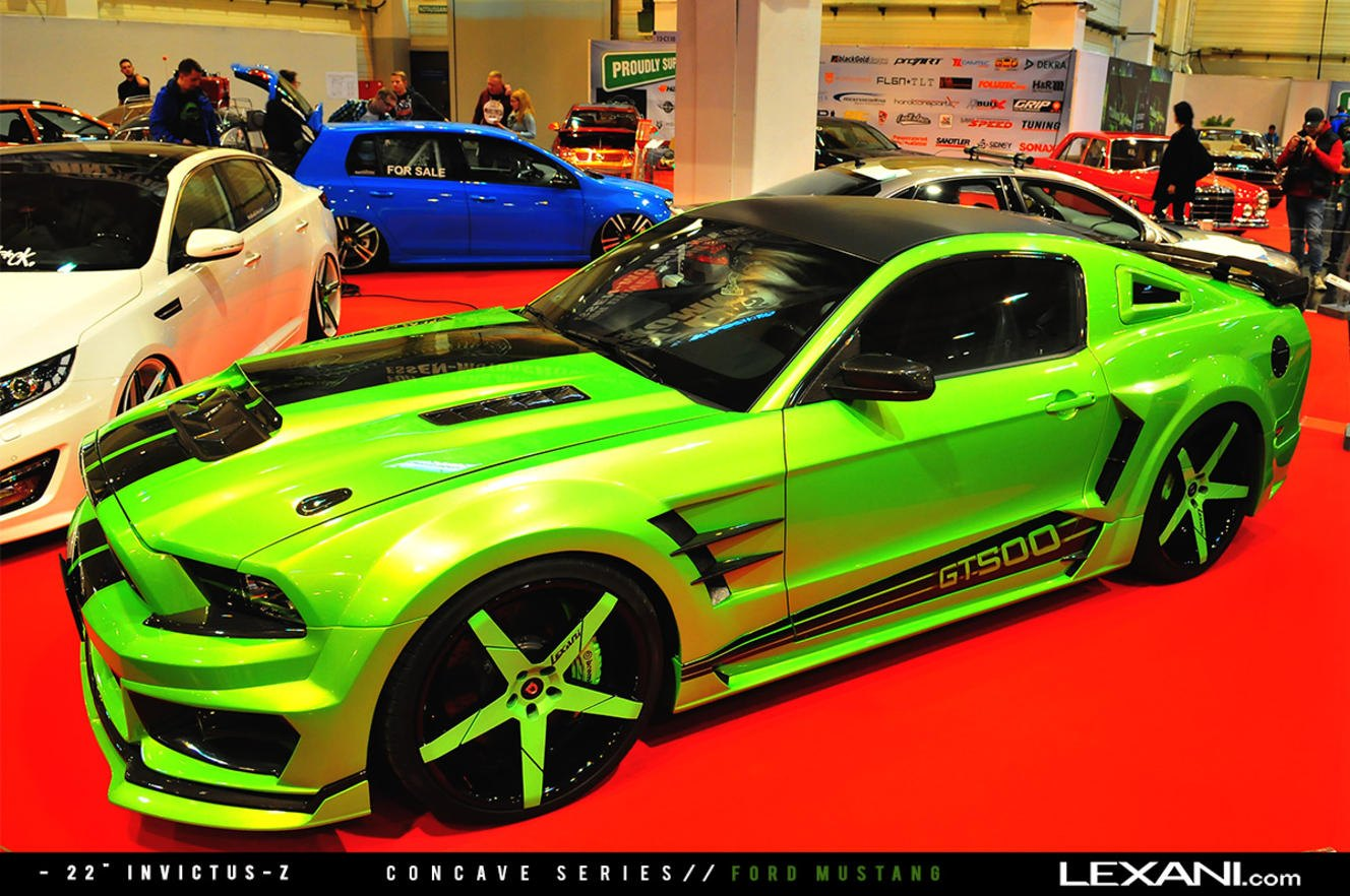 Lime green mustang race look carid com gallery