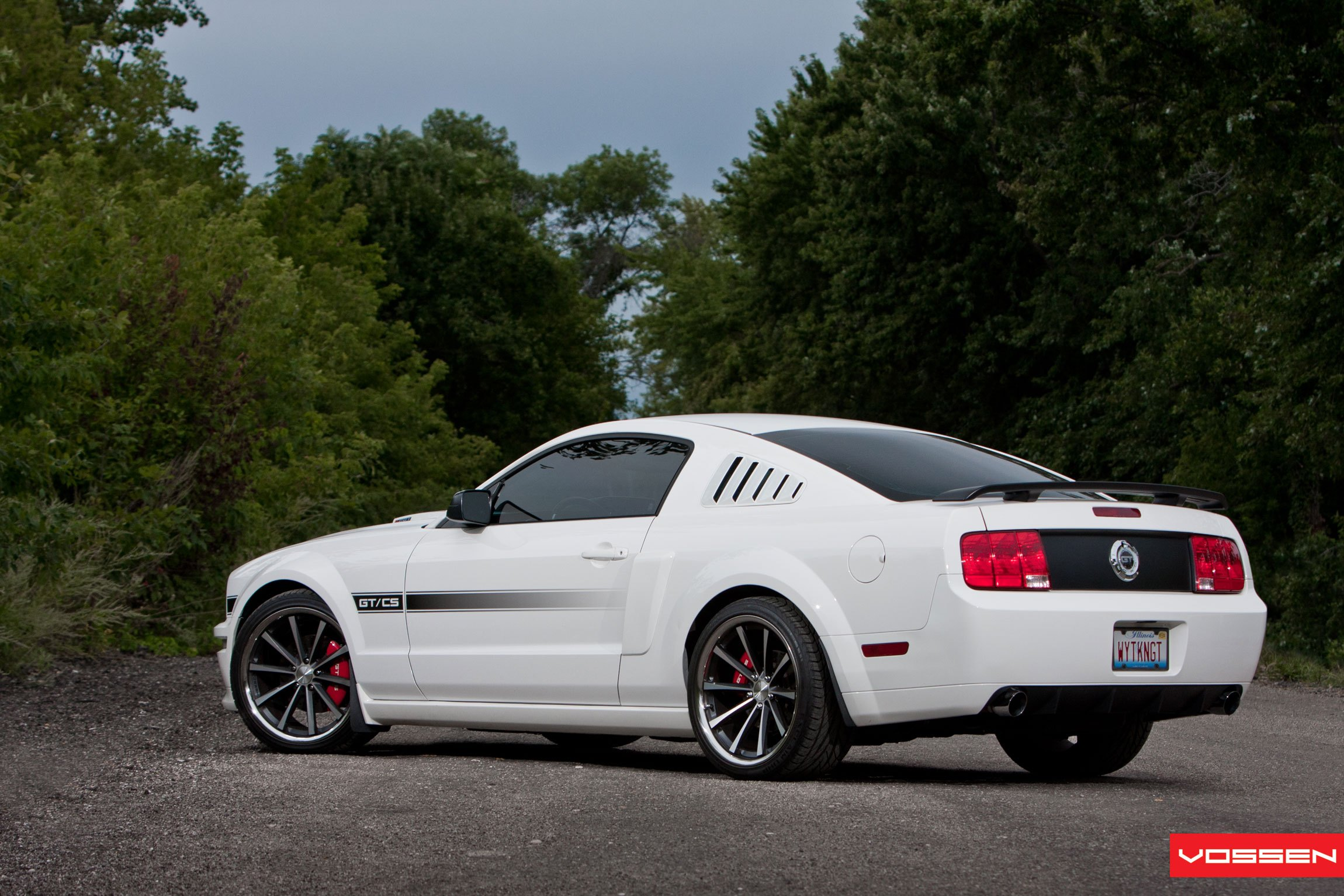 Sports Car Appearance at Its Best: Customized White Ford Mustang GT — CARiD.com Gallery