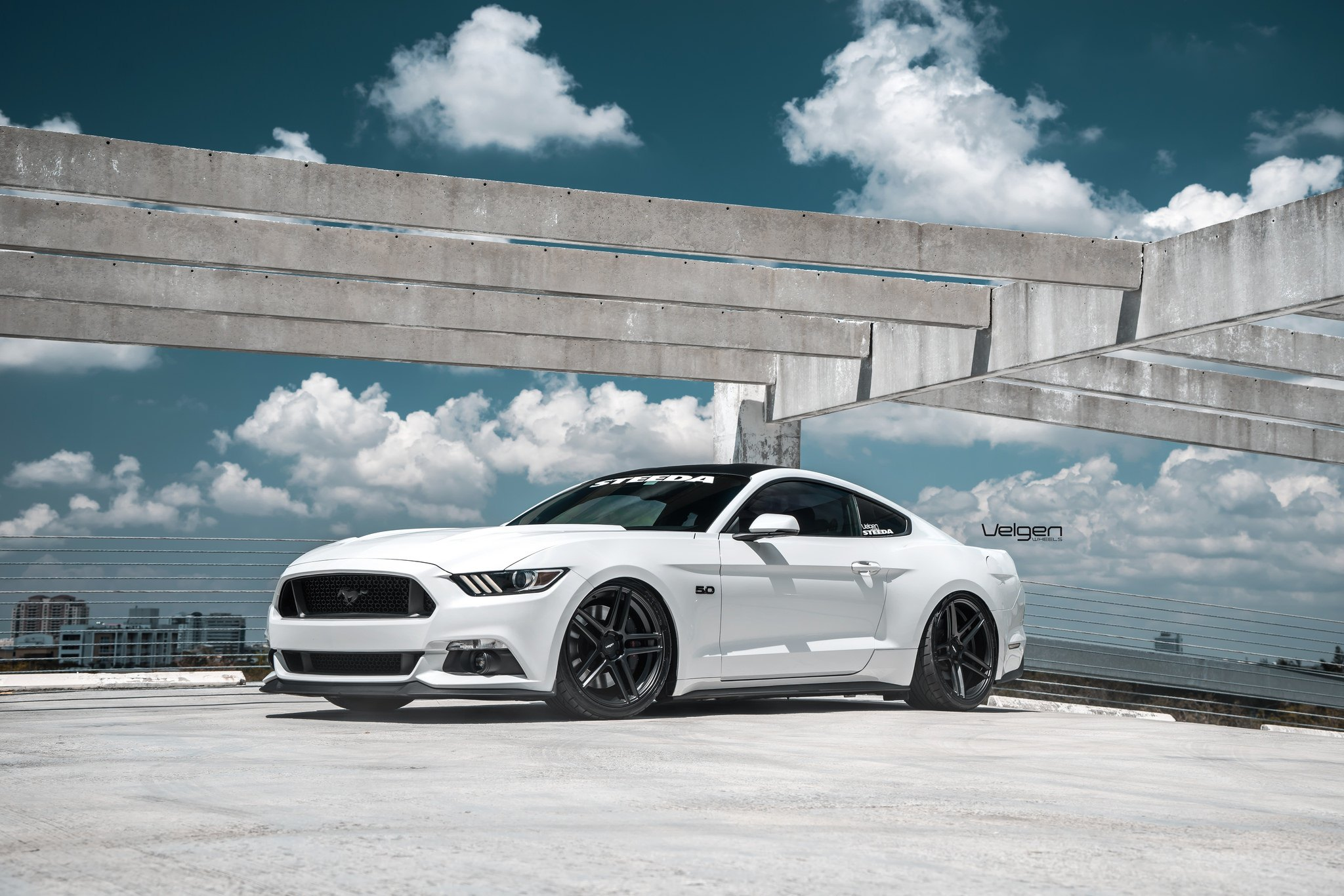Off The Beaten Path Tuned White Ford Mustang Carid Com Gallery