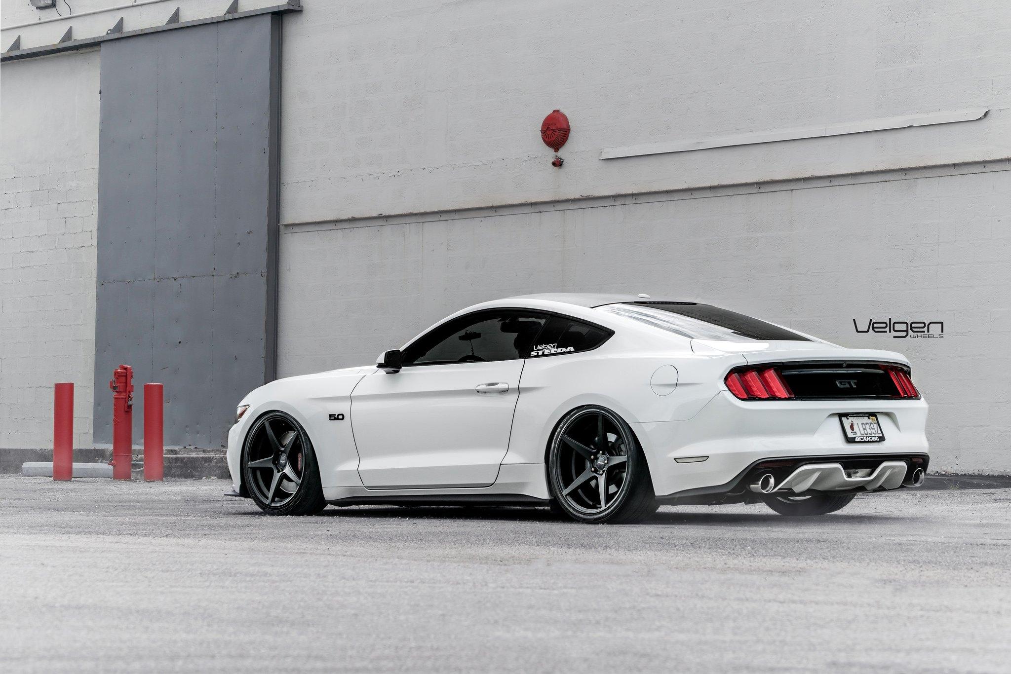Mustang Gt On 20 Black Velgen Classic5 Rims Carid Com Gallery