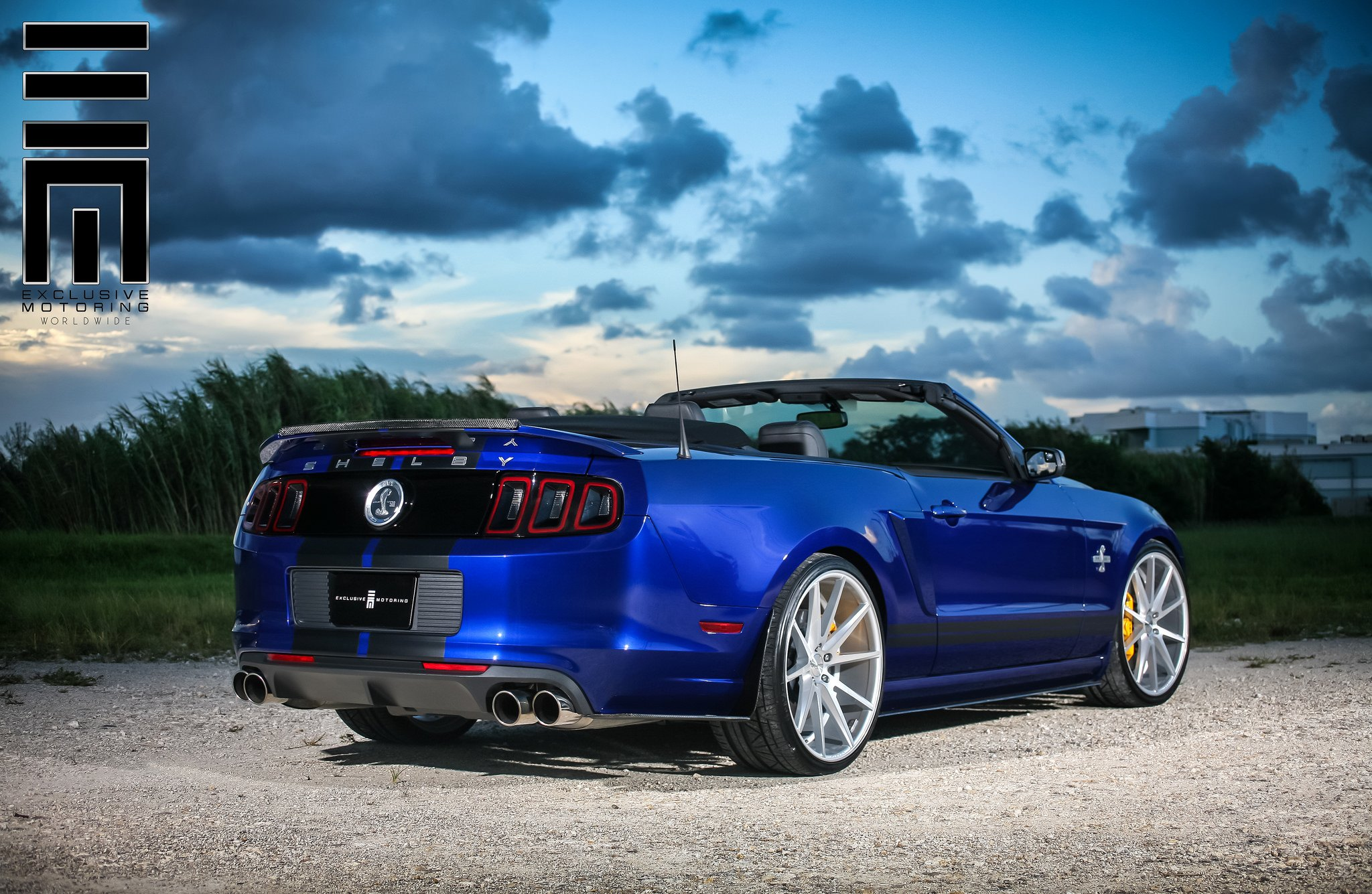 ford mustang shelby gt500 on vossen rims by exclusive. Black Bedroom Furniture Sets. Home Design Ideas