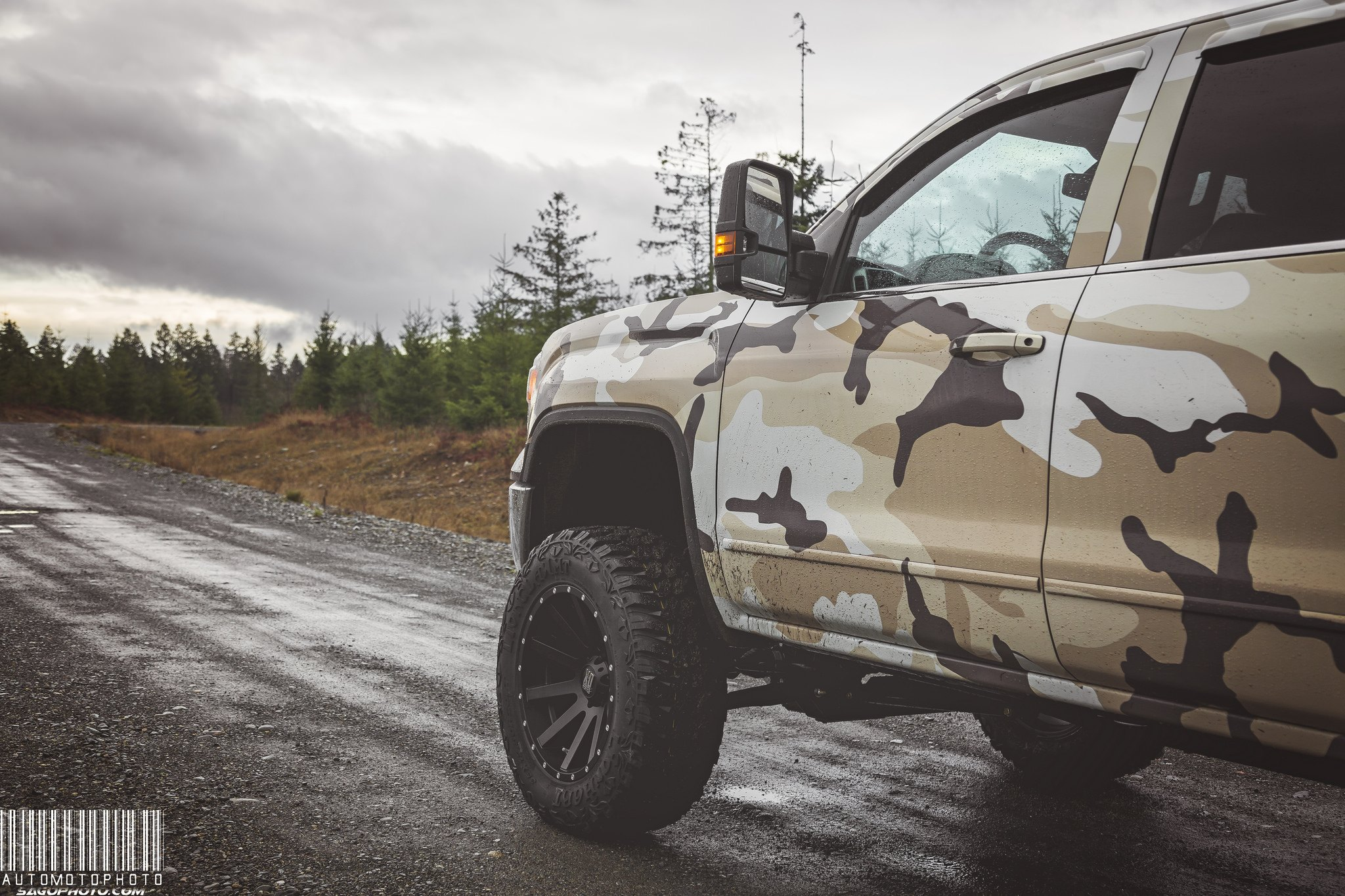 XD Off-road Rims on GMC Sierra 1500 - Photo by Sage Goulet (SAGO PHOTO)