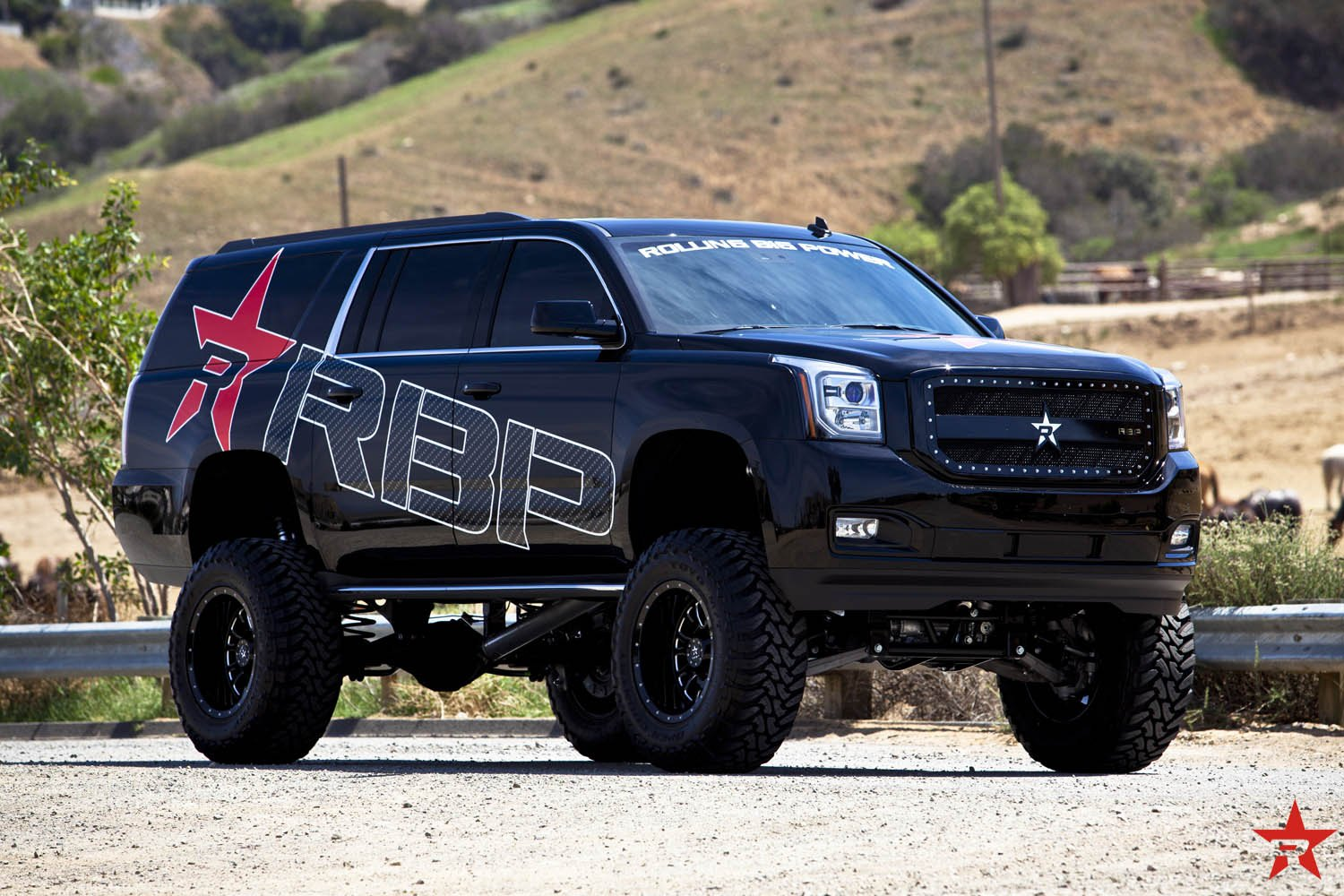 Lifted Yukon Xl On 38 Toyo M T Tires By Rbp Carid Com Gallery