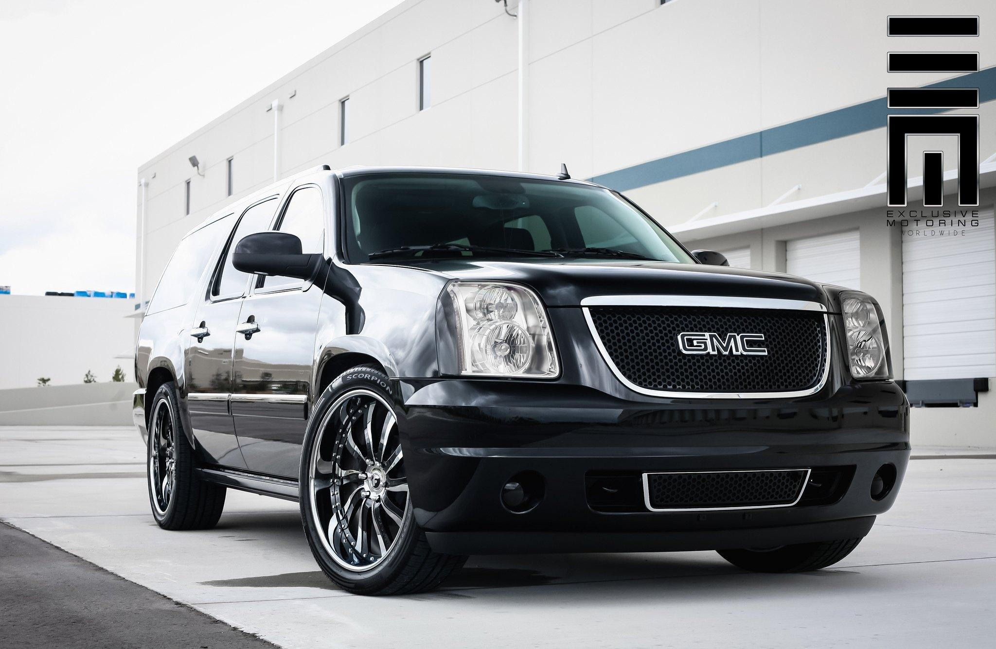 GMC Yukon XL on Forgiato Rims by Exclusive Motoring ...