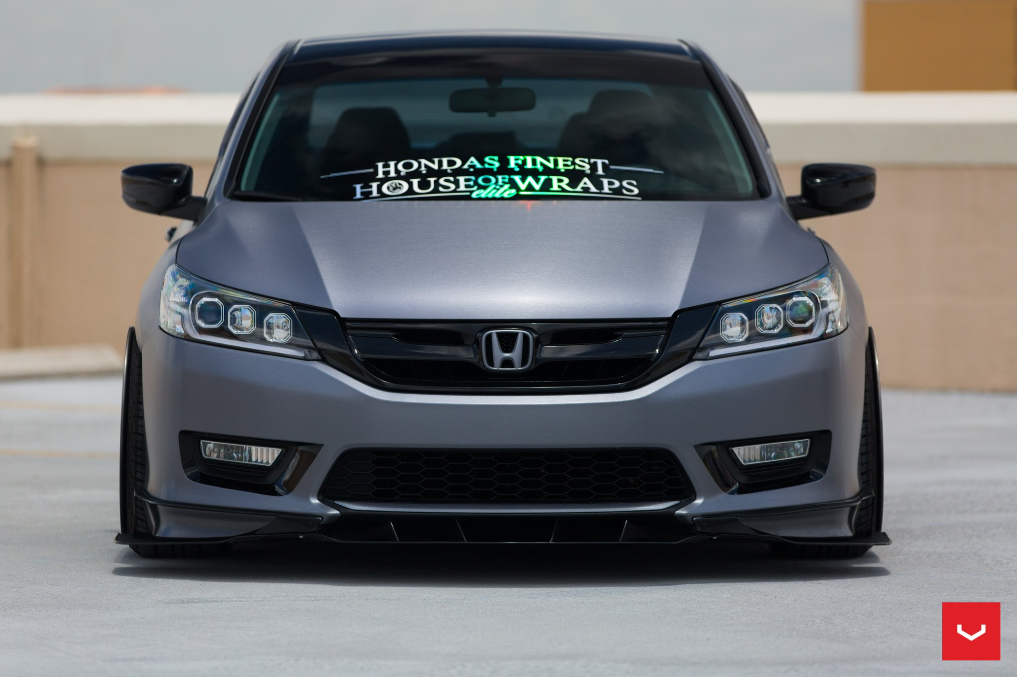 Custom Wrapped Honda Accord With Aftermarket Accessories