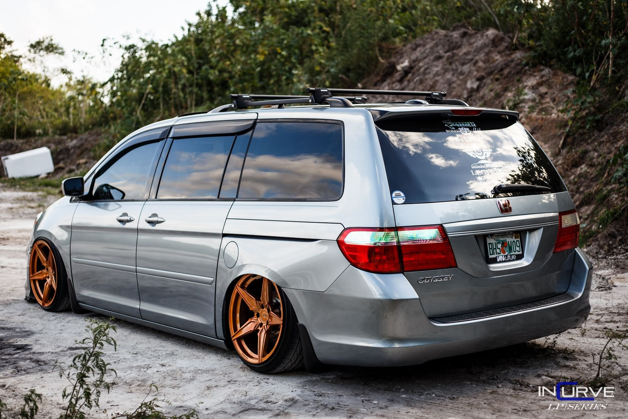 Full Package Modified Gray Honda Odyssey — CARiD Gallery