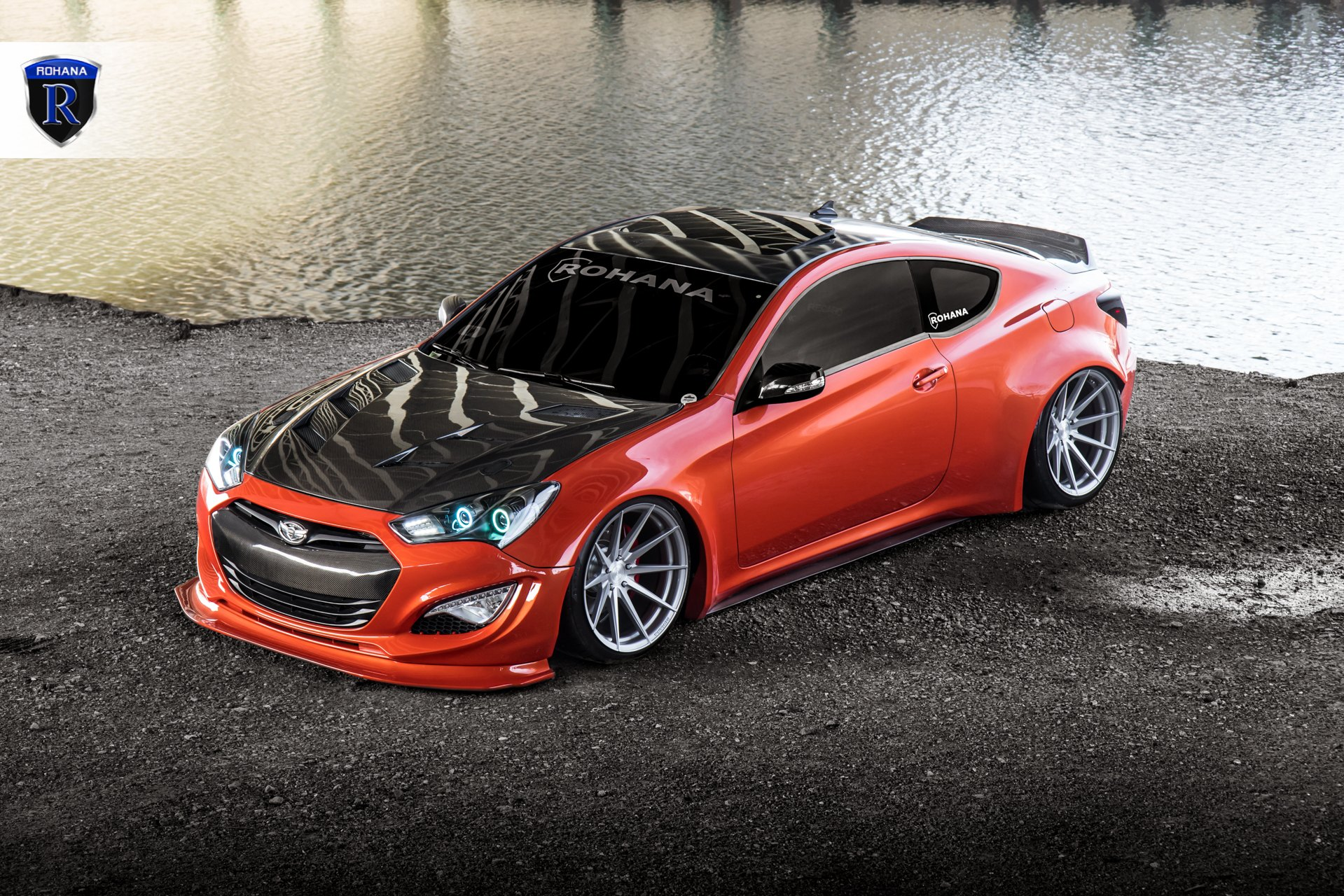 custom hyundai genesis coupe images mods photos. Black Bedroom Furniture Sets. Home Design Ideas