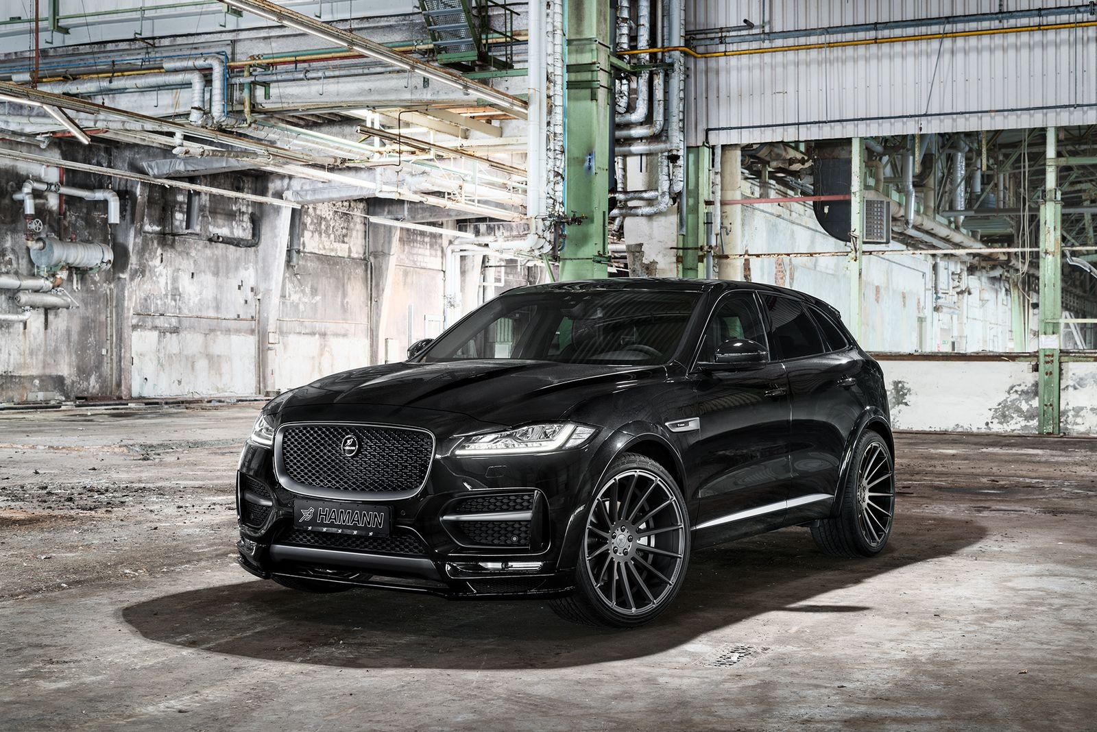 All Black Sinister Jaguar F Pace Gets Custom Parts Carid Com Gallery