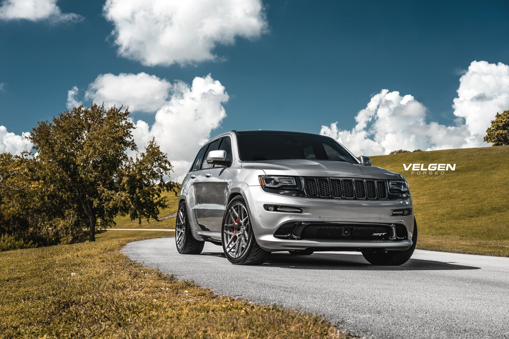 Jeep Srt 8 2017 >> Unmatched Style: Jeep Grand Cherokee SRT Fitted With VELGEN Custom Wheels — CARiD.com Gallery