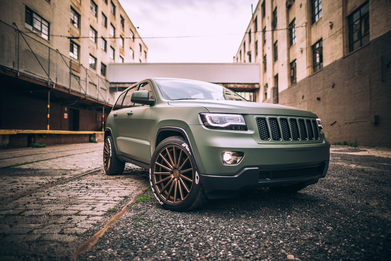 Custom 2018 Jeep Grand Cherokee Images Mods Photos