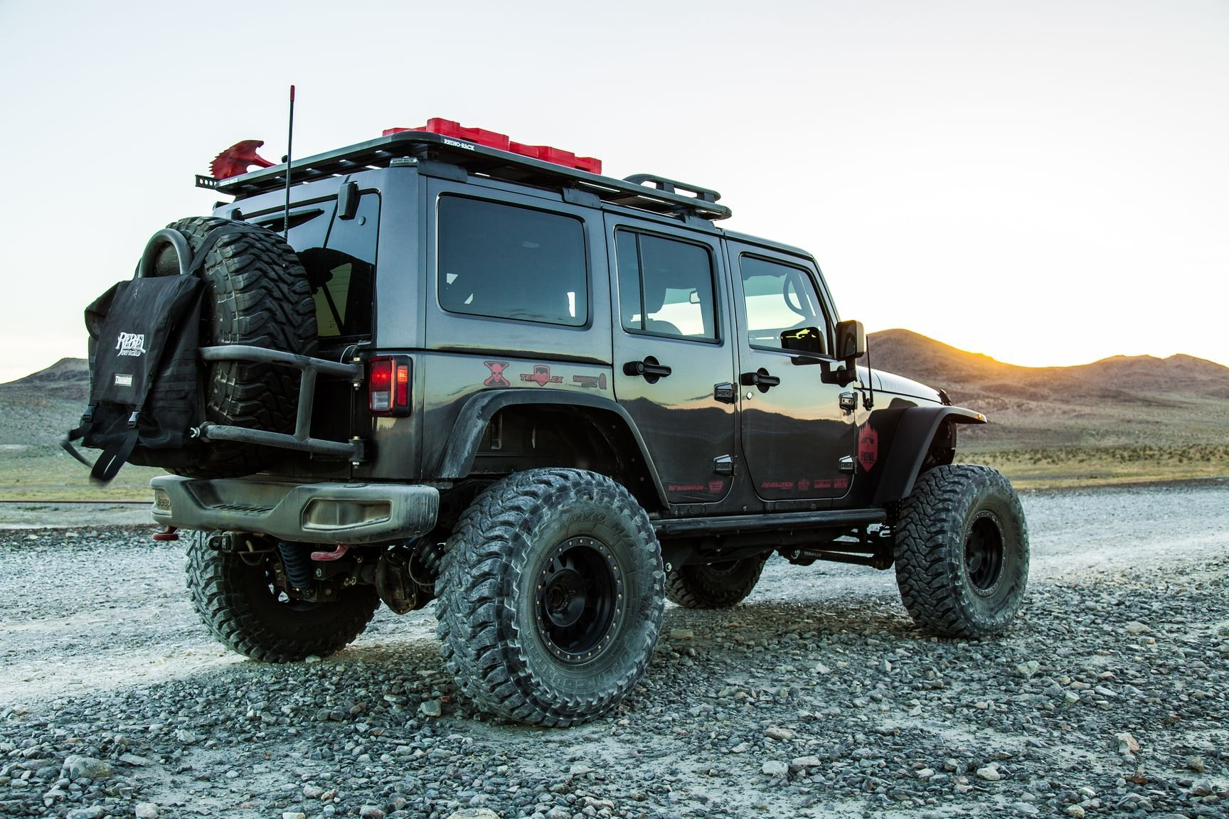 Black Lifted Jeep Wrangler Customized For Active Lifestyle