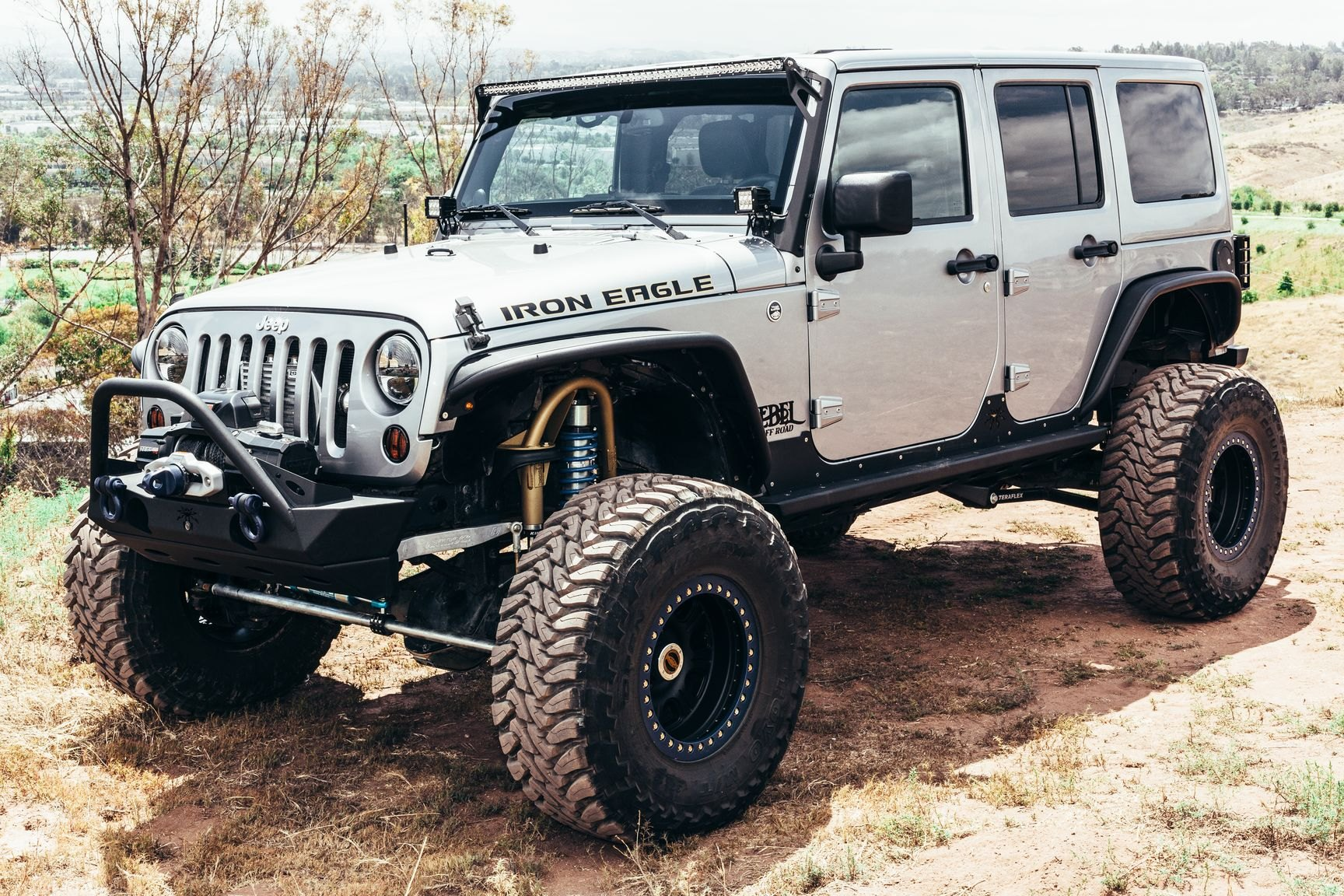 Iron Eagle Build Jeep Wrangler Customized By Rebel Off Road Carid