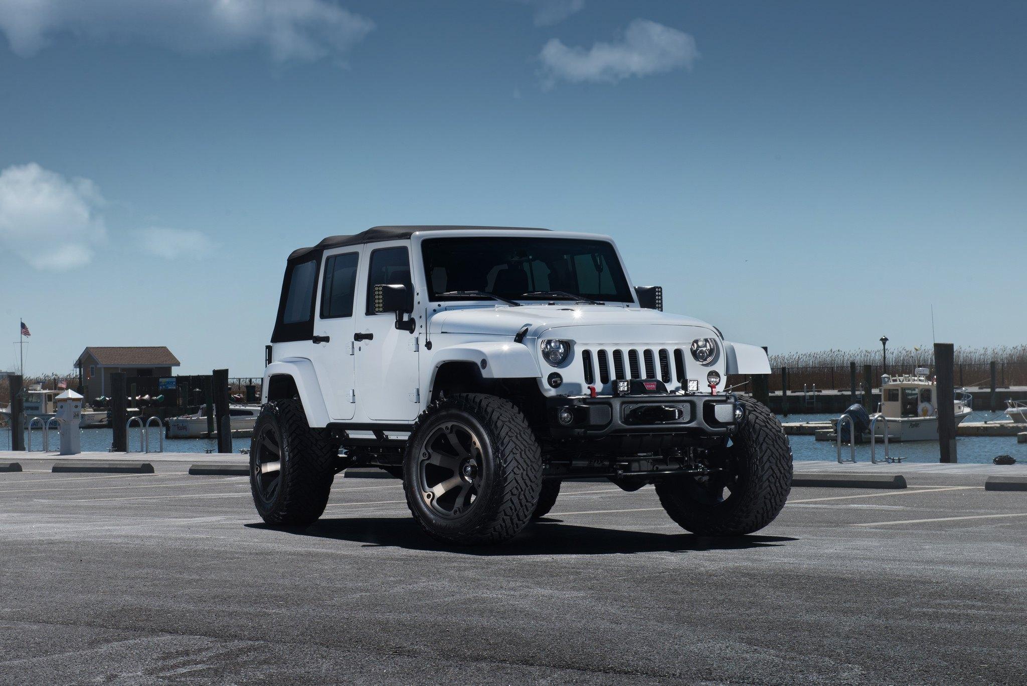 Jeep Jk Mods >> Super Clean Lifted Wrangler Jk Unlimited With Subtle Mods
