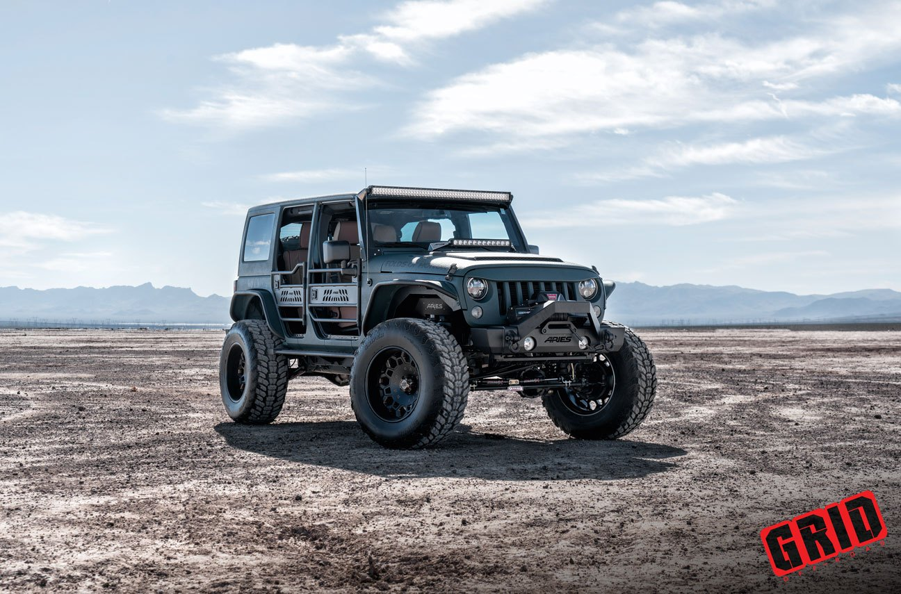 awesome jk unlimited with tubular doors by grid off road gallery. Black Bedroom Furniture Sets. Home Design Ideas