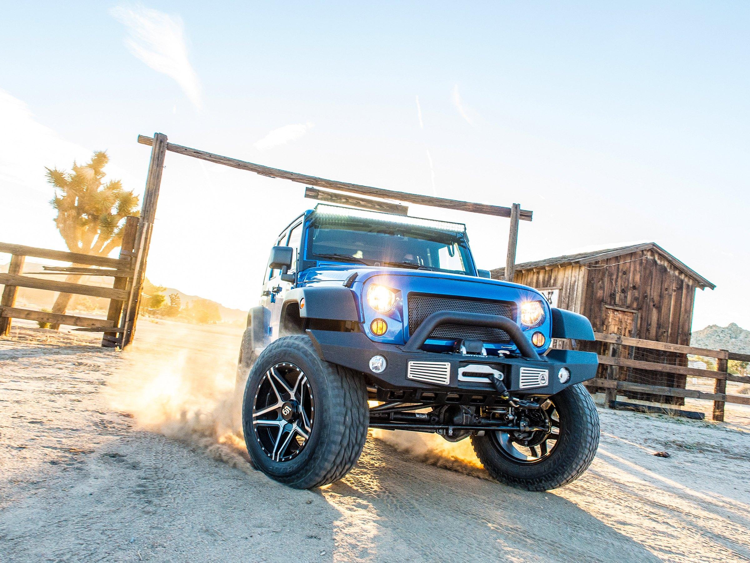 Desert Vagabond Lifted Wrangler Unlimited By Smittybilt