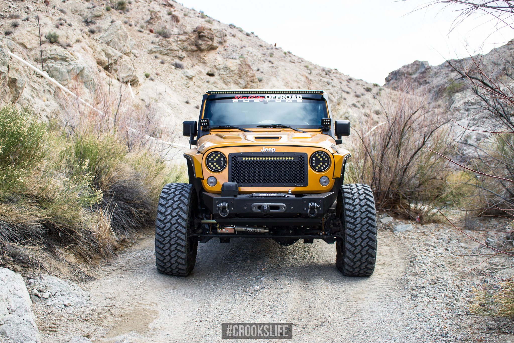 Jeep Wrangler with Smittybilt Winch - Photo by Jimmy Crook