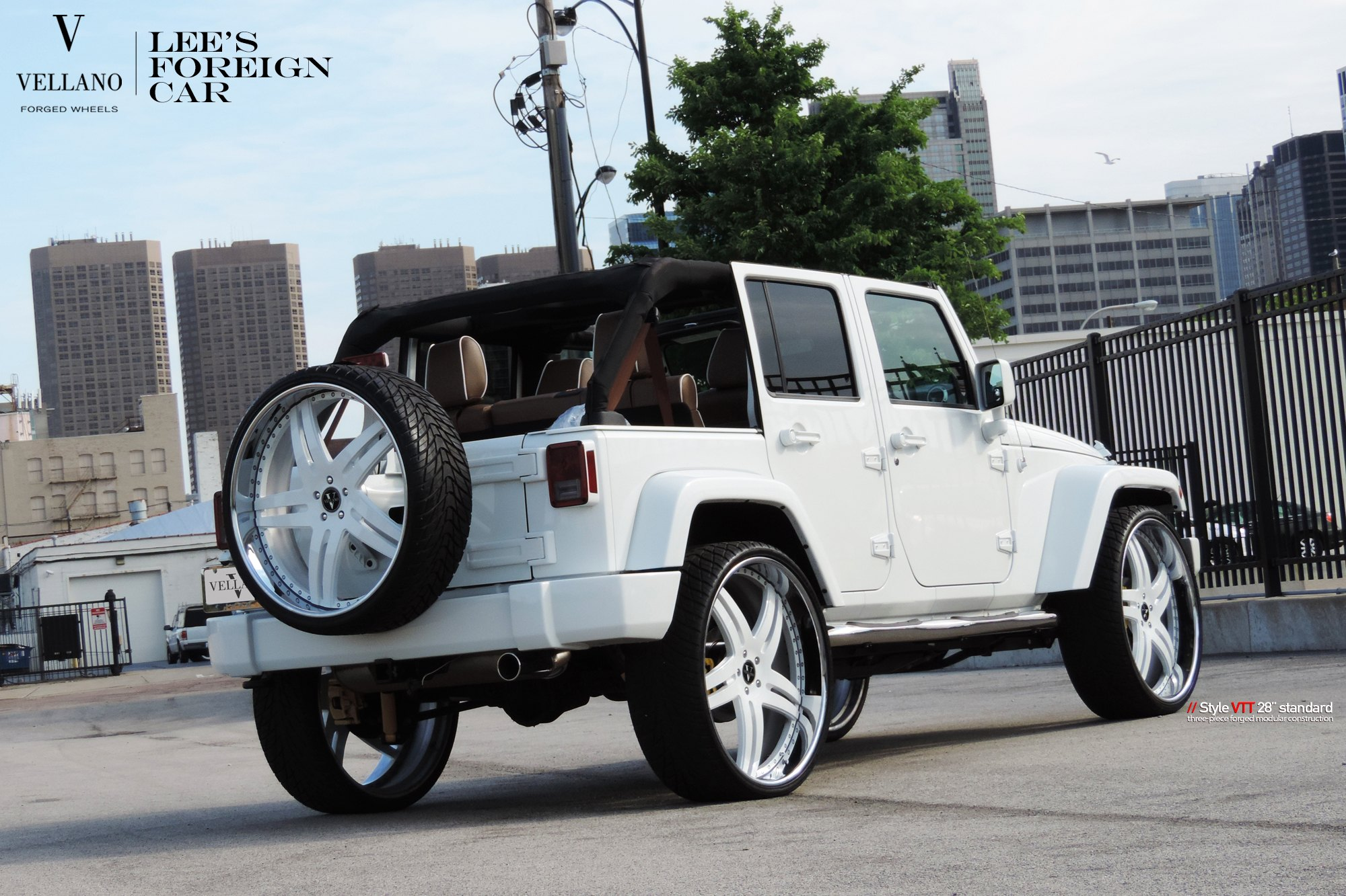 White On White Customized Jeep Wrangler Carid Com Gallery