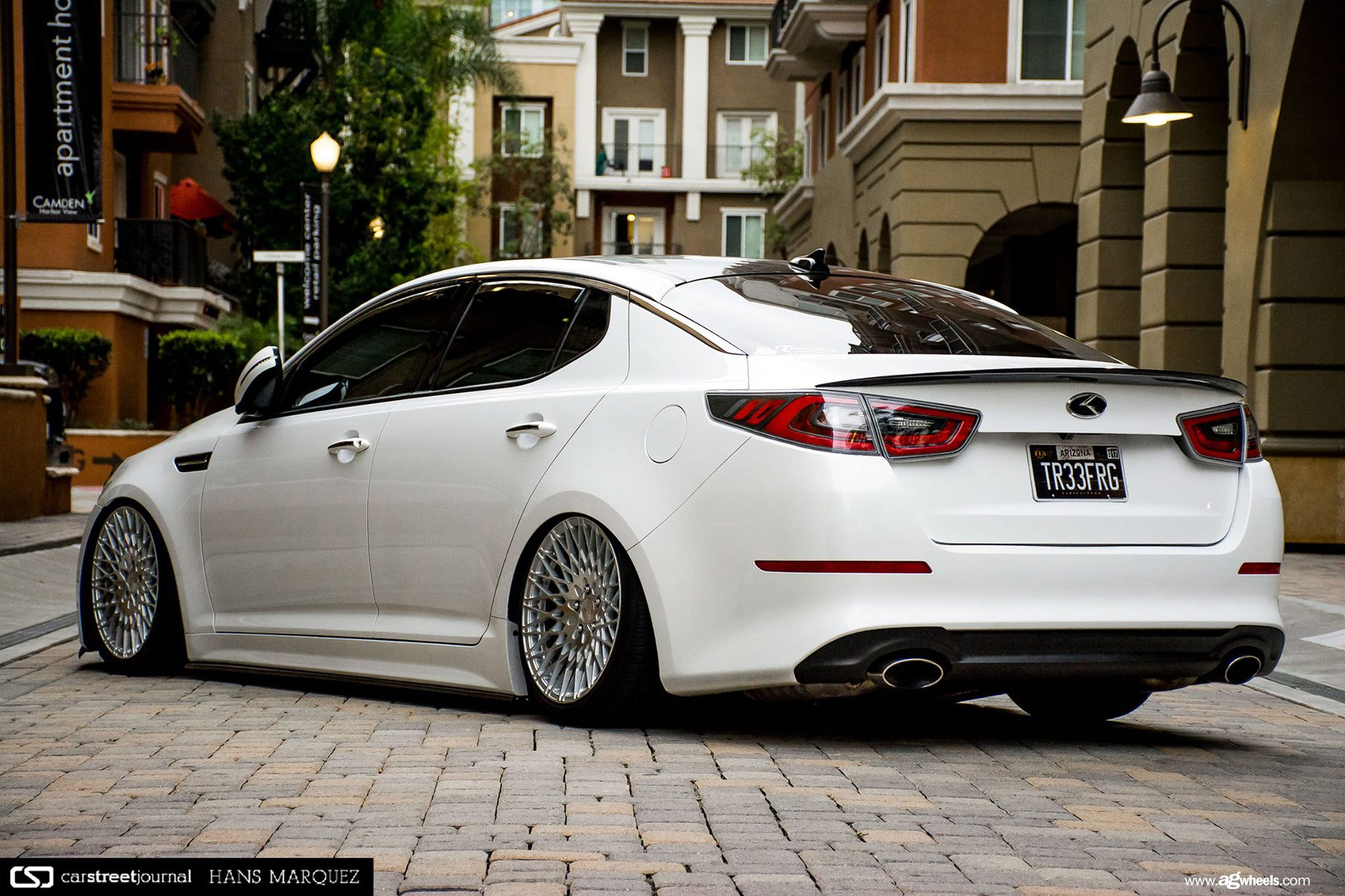 Kia Optima with a Perfect Stance by Avant Garde — CARiD ...