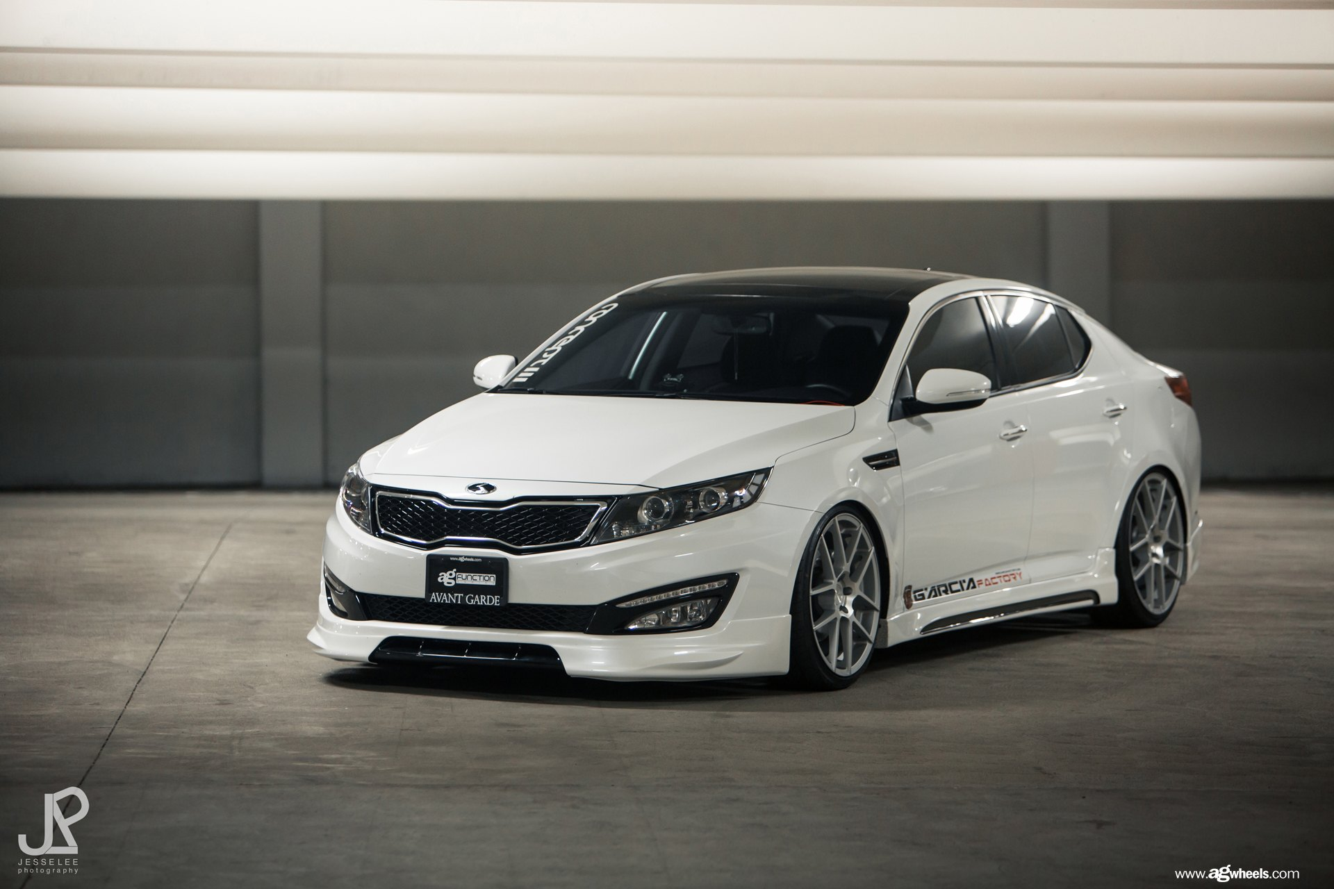 Optima With Sport Body Kit And Avant Garde Custom Wheels Carid Com Gallery