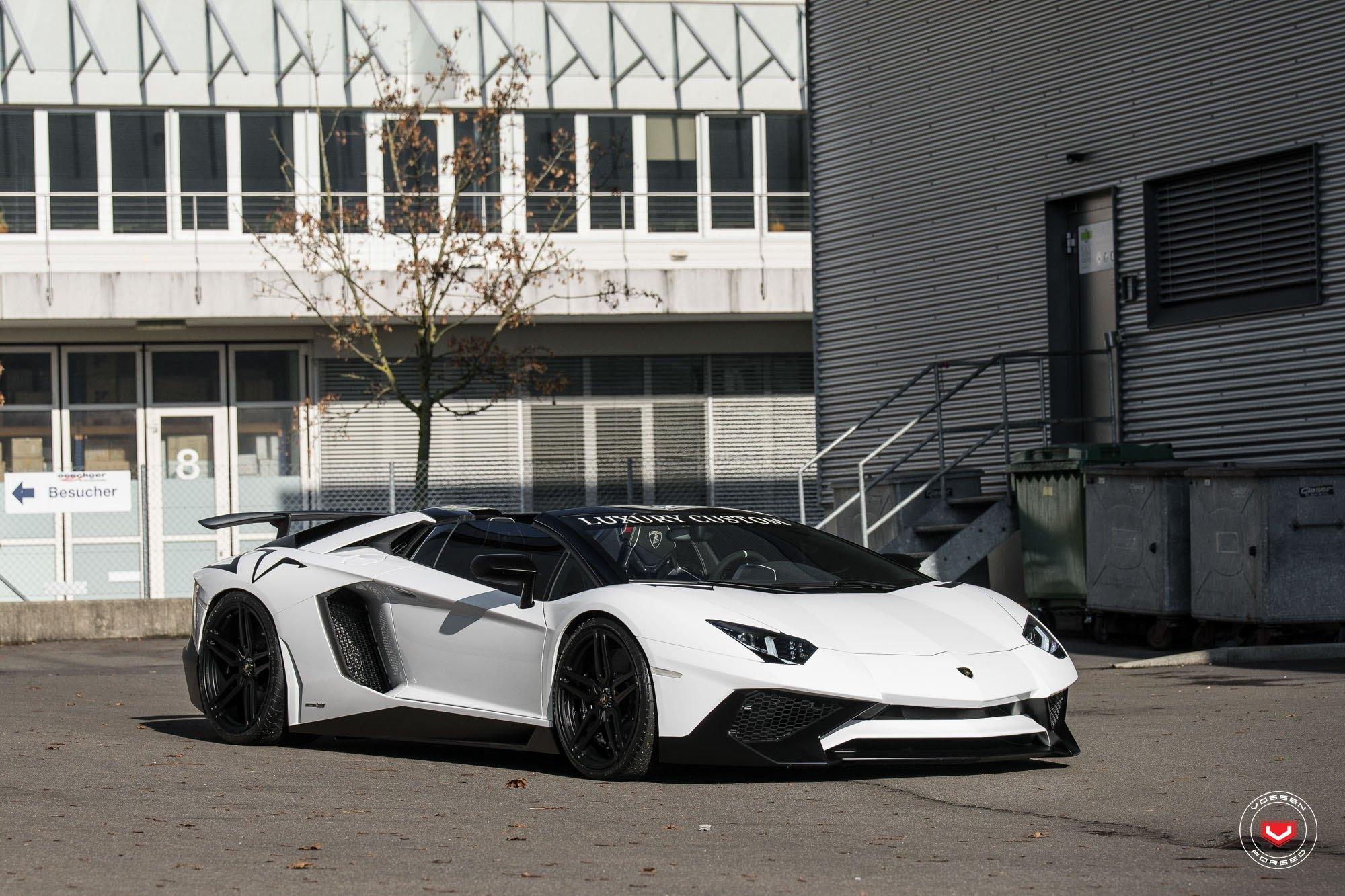 lamborghini aventador white and black - HD2000×1333