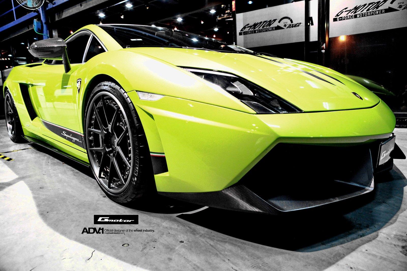 Special Edition Lime Green Lamborghini Gallardo Superleggera Gets