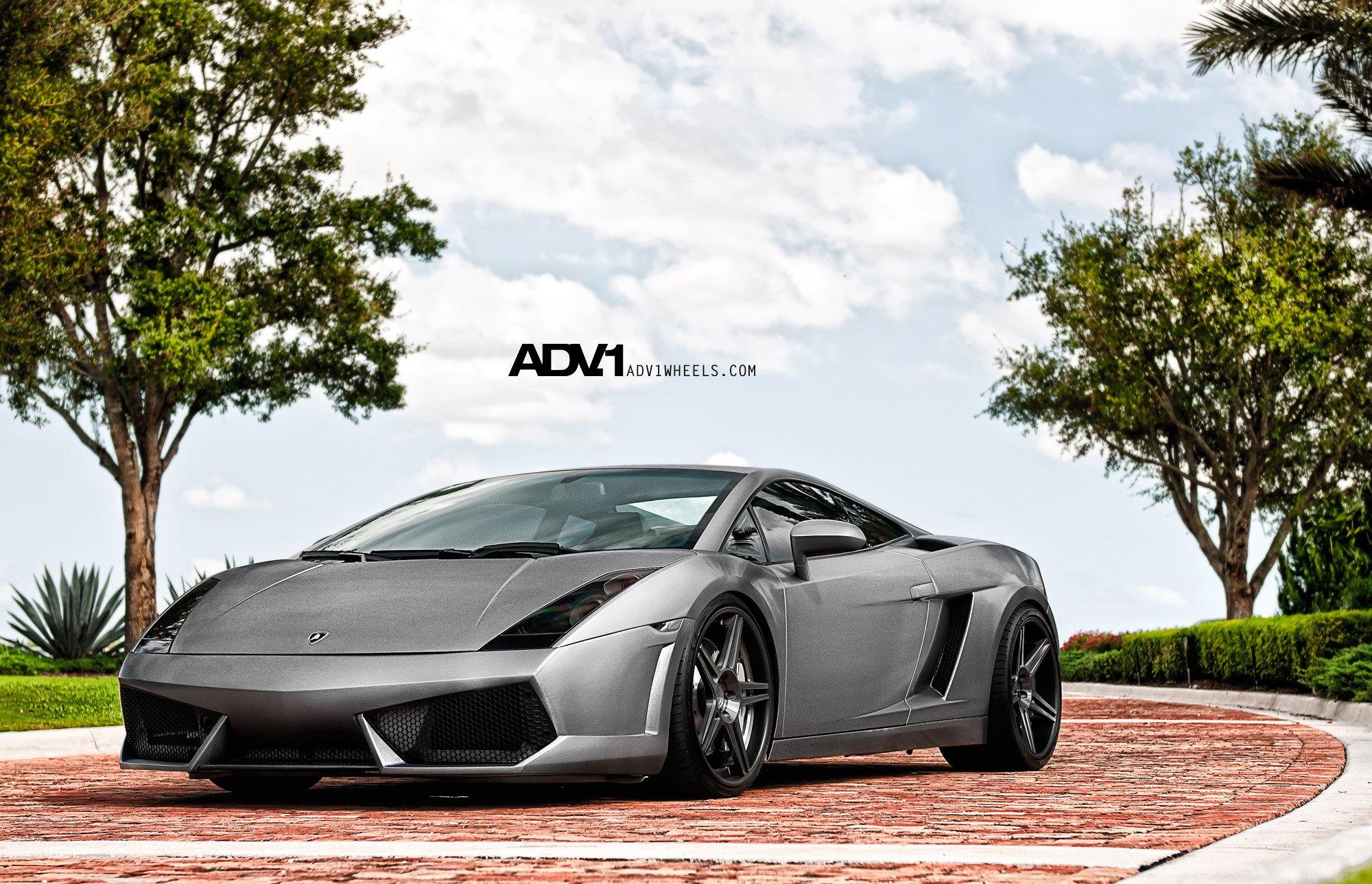 Mighty Lamborghini Gallardo Rolling On Forged Custom Rims By Adv1
