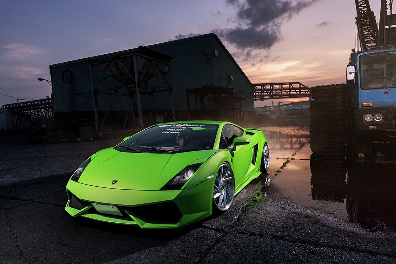 Lime Green Lamborghini Gallardo Reworked To Awe Carid Com Gallery