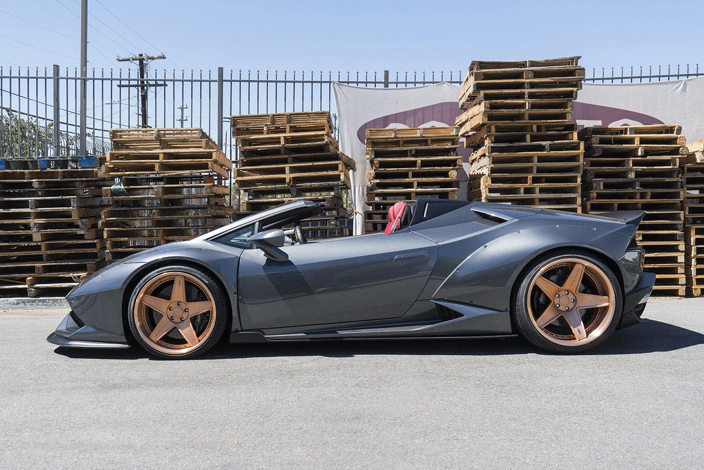 Ferrari Fighter Mighty Lamborghini Huracan By Adv1 Carid Com Gallery