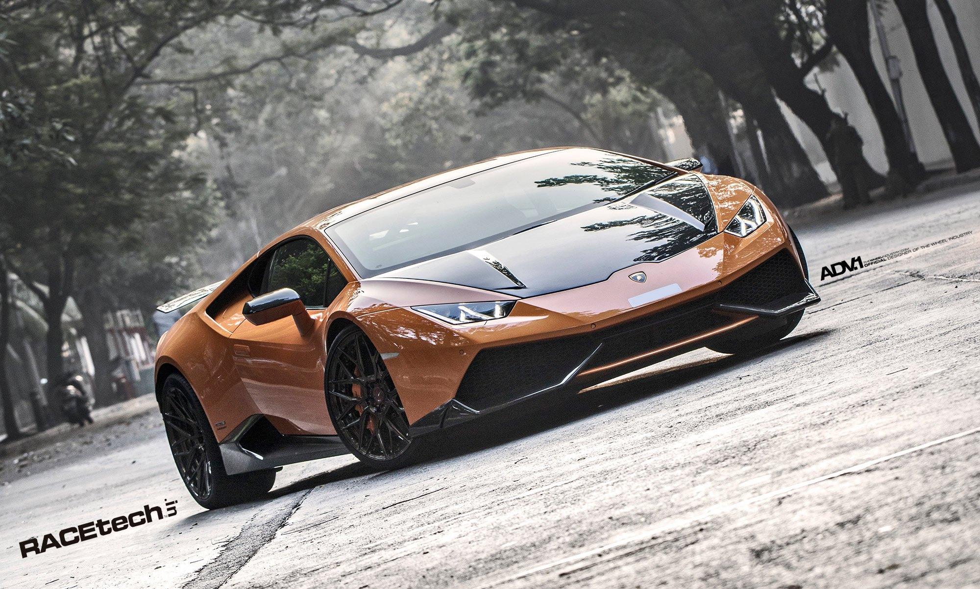 Orange Fighter Jet , Lamborghini Huracan by ADV1 \u2014 CARiD.com
