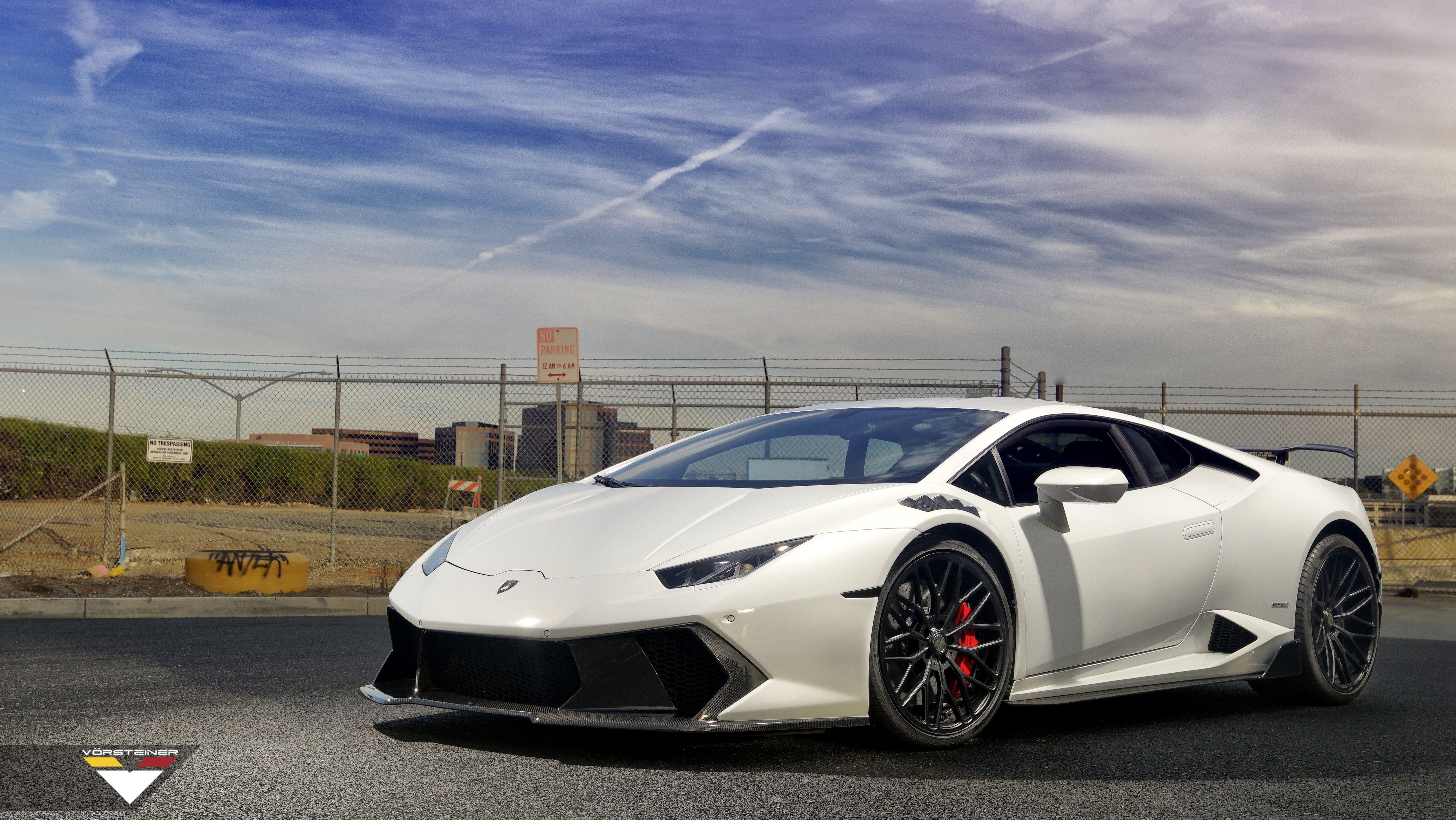 Superb Tuning Noticed on White Lamborghini Huracan — CARiD ... Lamborghini Huracan White