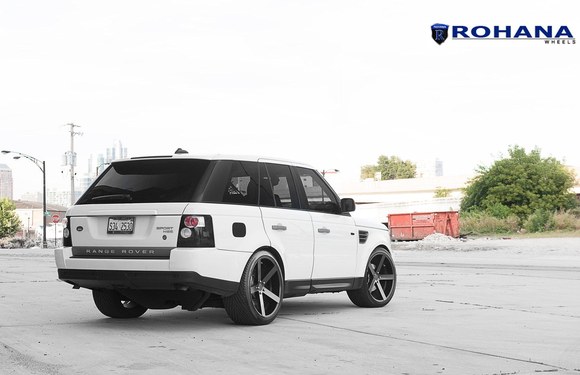 Range Rover Sport Hse On Rohana Rc22 Custom Wheels Carid Com Gallery