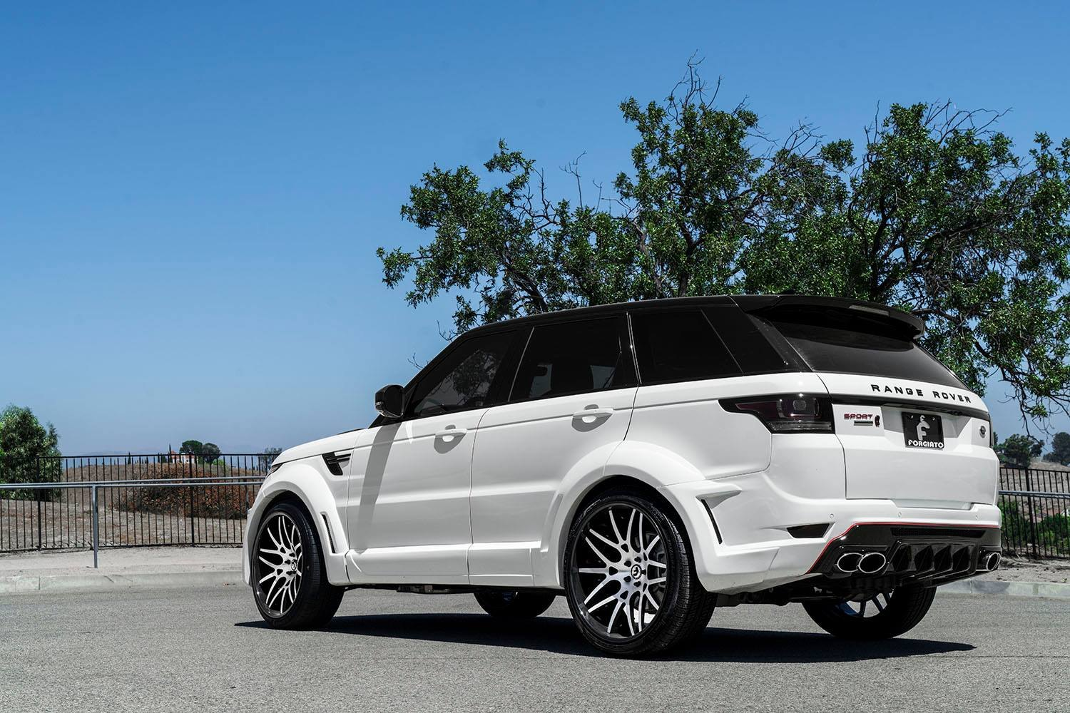 white range rover sport with blacked out mesh grille. Black Bedroom Furniture Sets. Home Design Ideas
