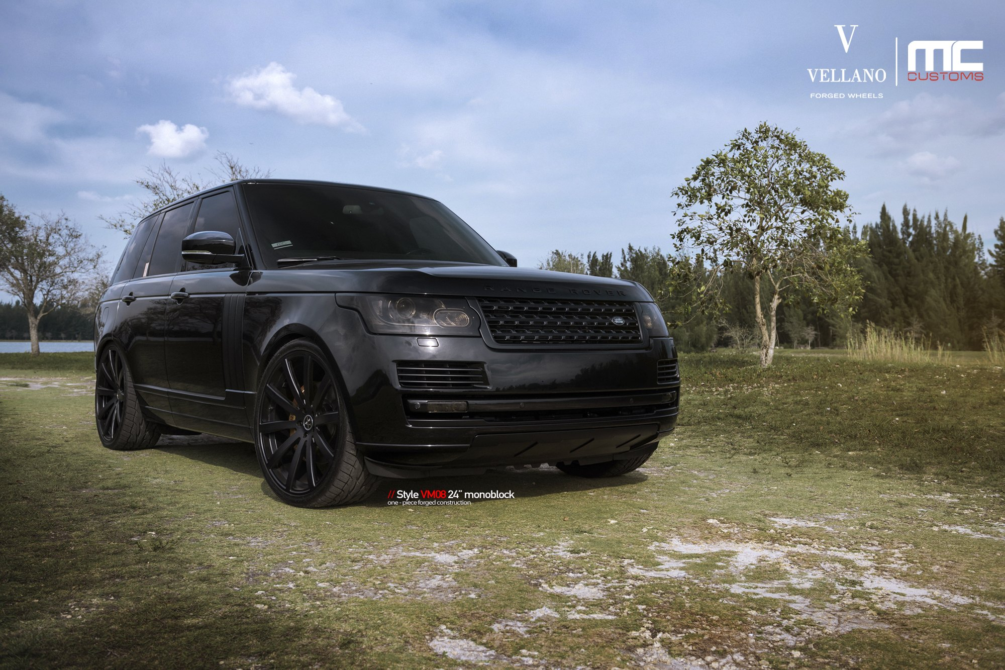 Fashionable Blacked Out Range Rover by MC Customs — CARiD Gallery