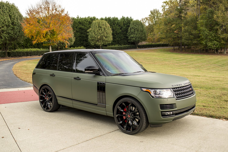 Matte Range Rover >> Curvaceous Cruiser Custom Olive Matte Range Rover Carid