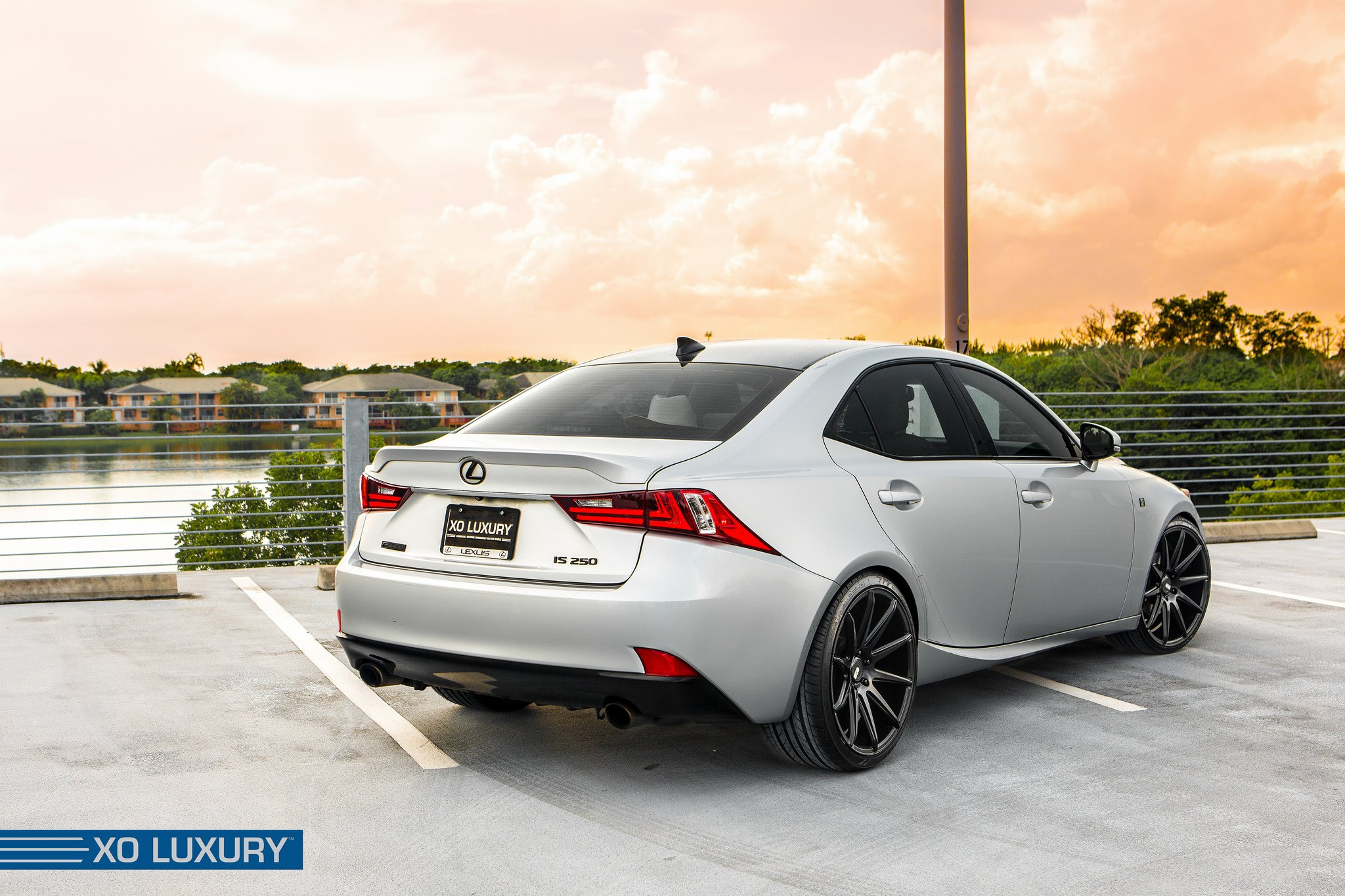 Lexus Is 250 On Sydney Deep Concave Rims By Xo Luxury Carid Com