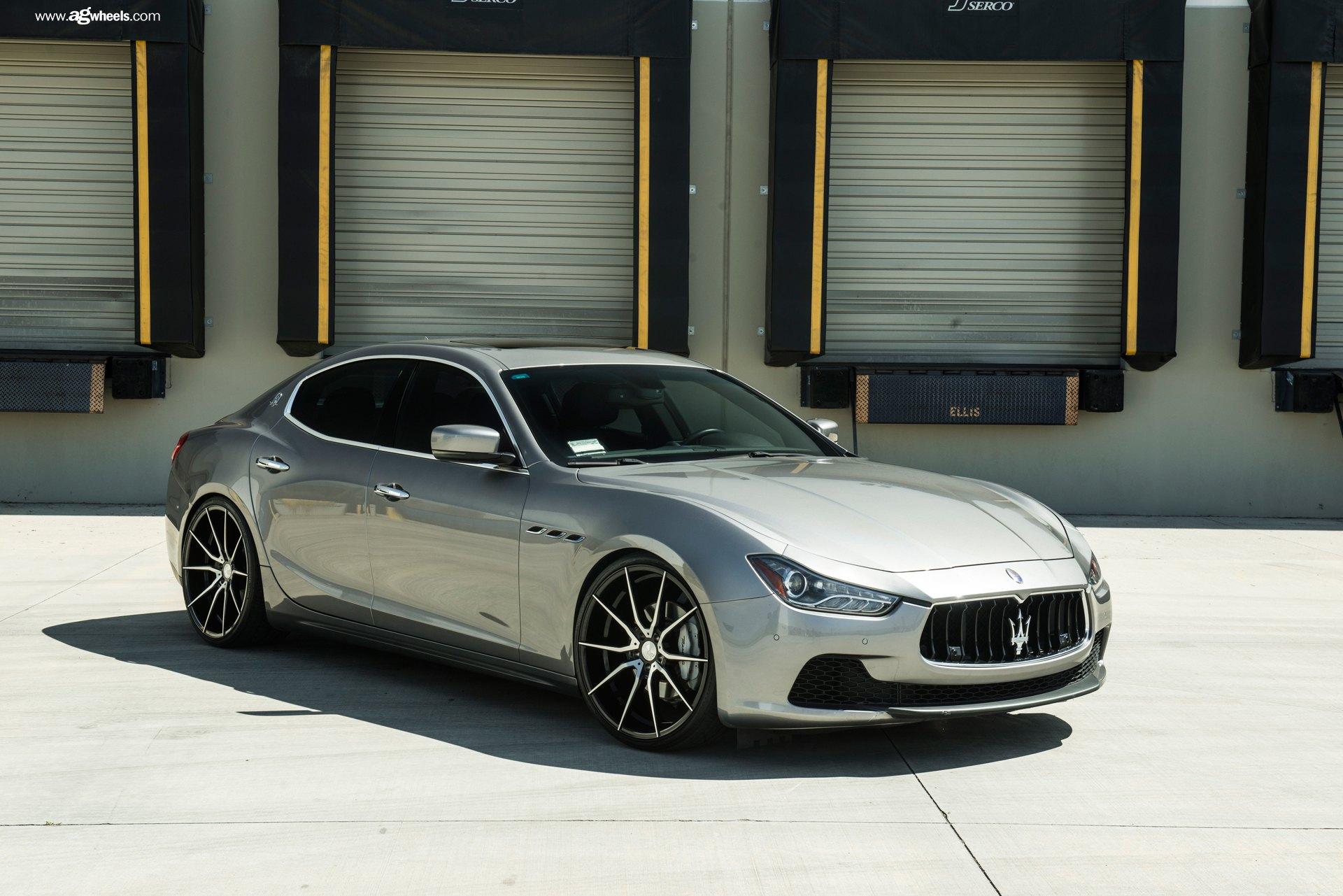 VIP Never Looked Better: Custom Silver Maserati Ghibli ...