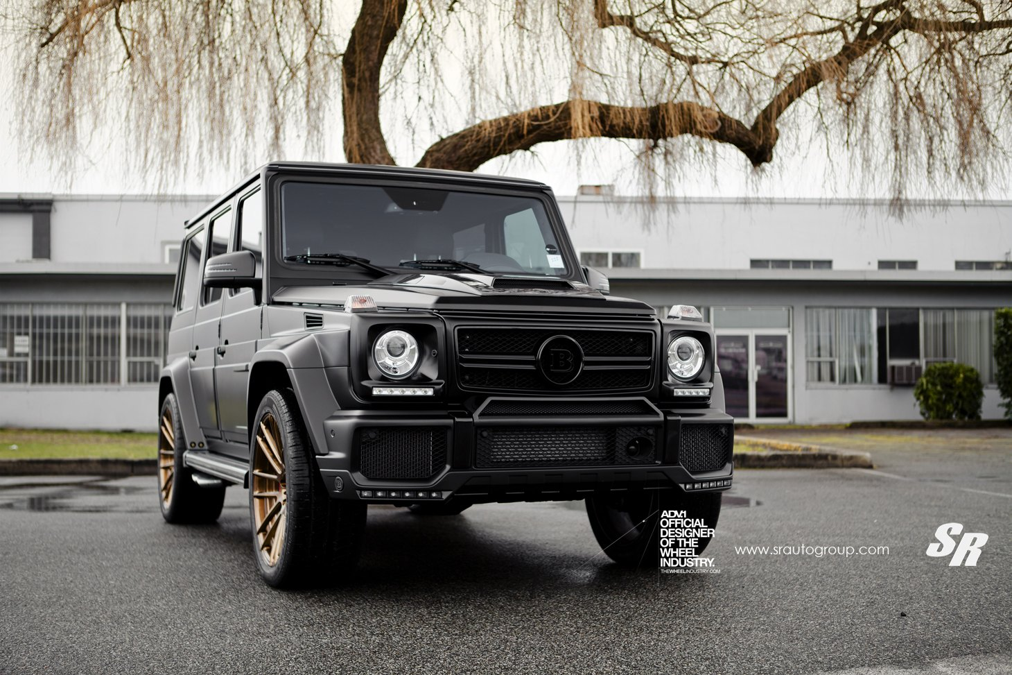matte black g class customized with brabus premium upgrades gallery. Black Bedroom Furniture Sets. Home Design Ideas