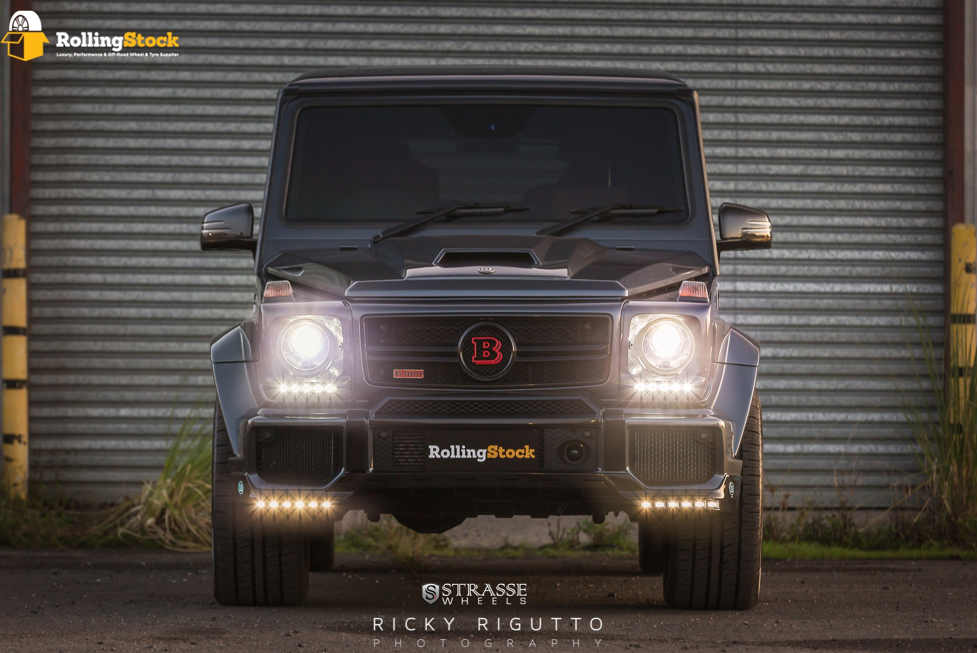 Exceptional Brabus Touches on Gray Mercedes G Class — CARiD Gallery