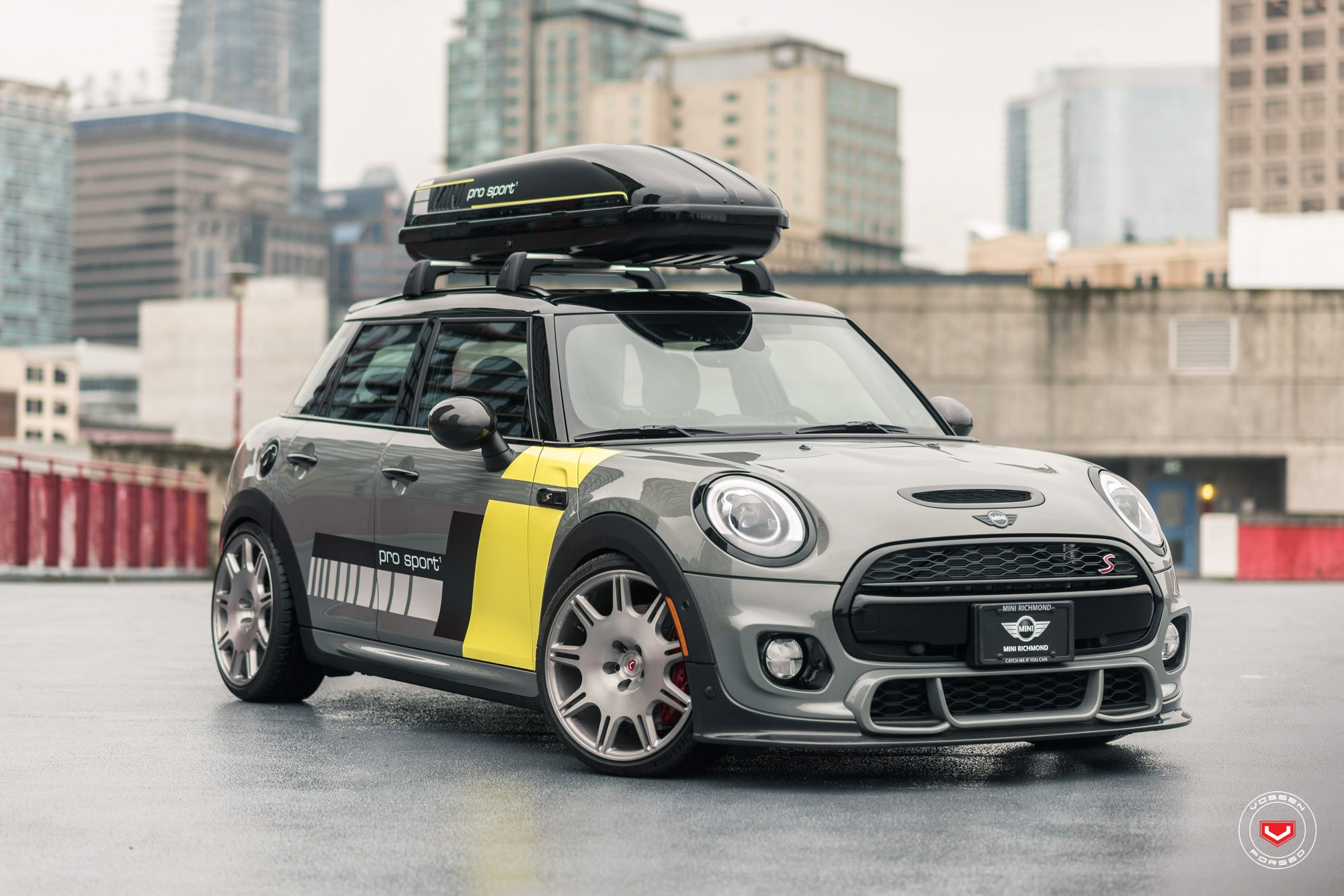 Custom Front Per On Gray Mini Cooper S Photo By Vossen