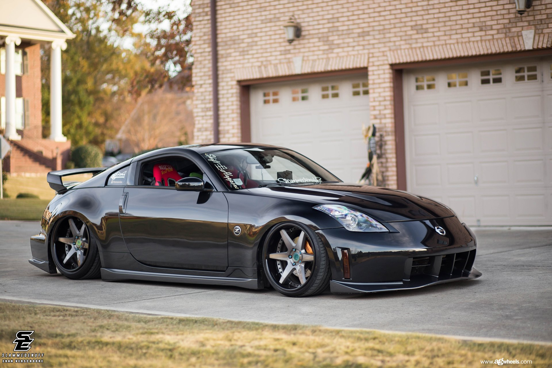 air lifted nissan 350z nismo by avant garde gallery. Black Bedroom Furniture Sets. Home Design Ideas
