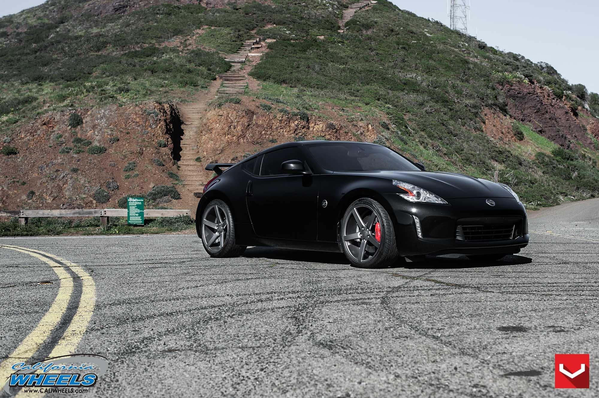 acing Black Nissan 370Z Customized to Amaze — CARiD.com Gallery
