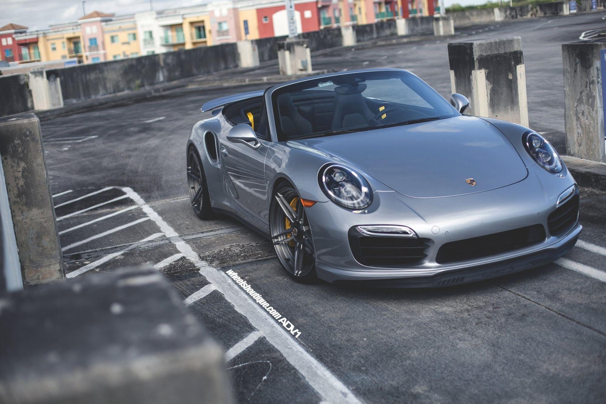 Bad Boy In Town Silver Convertible Porsche 911 Carid Com Gallery